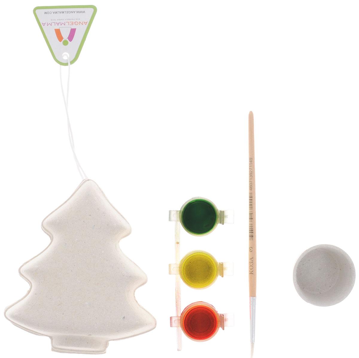 Шар-папье Набор для изготовления игрушки Елочка