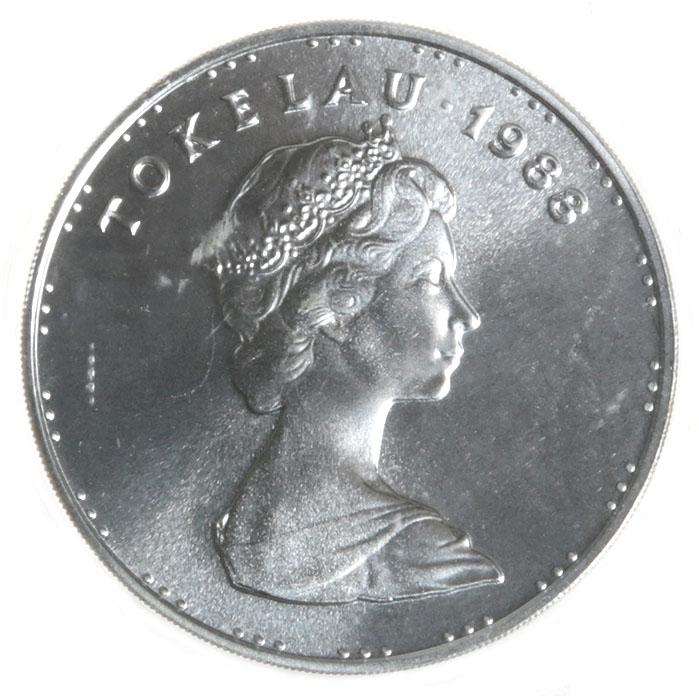 Монета номиналом 5 тала