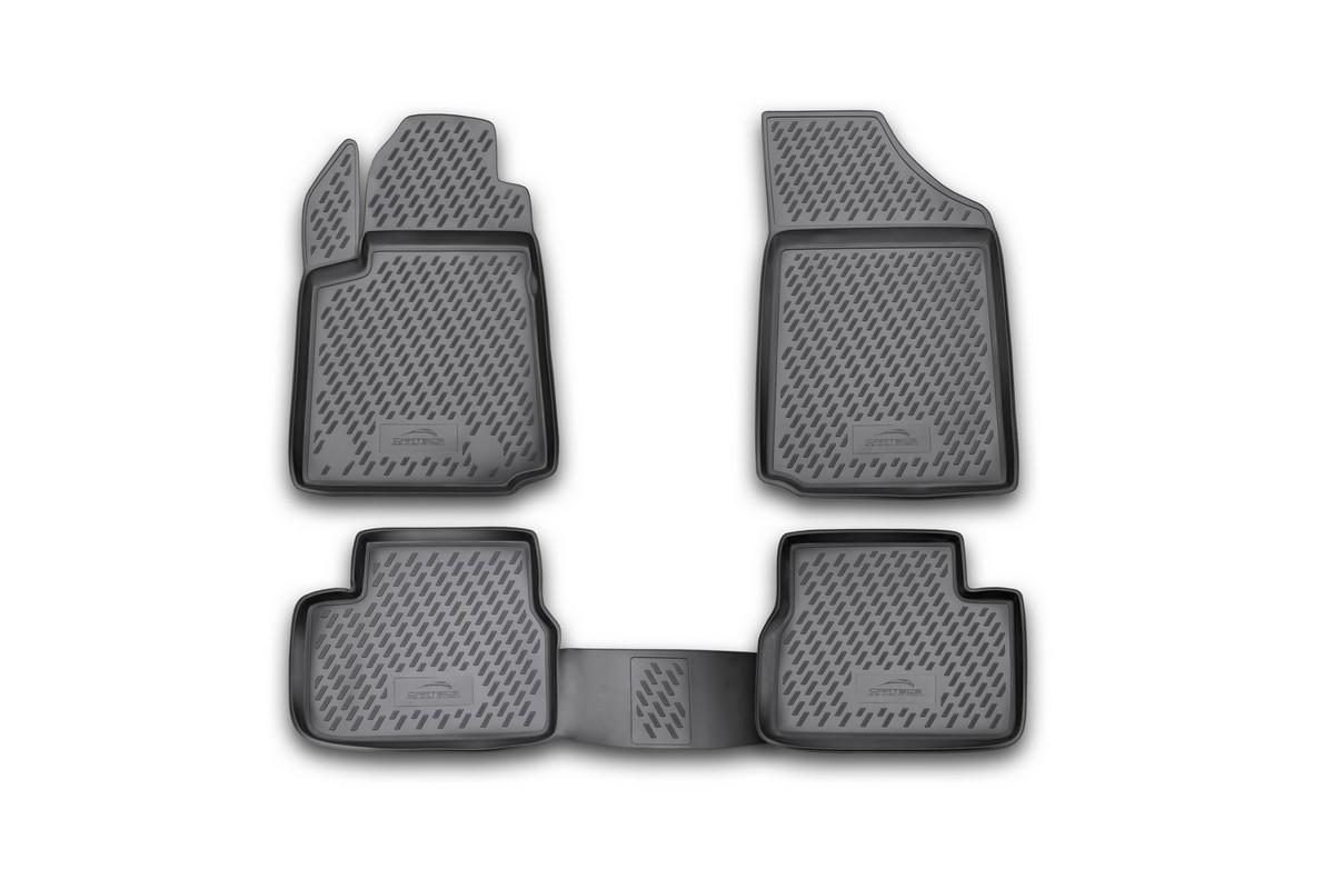 Набор автомобильных ковриков Novline-Autofamily для Citroen C3 2002-2009, в салон, 4 шт. CARCRN00009CARCRN00009Набор автомобильных ковриков Novline-Autofamily, изготовленный из полиуретана, состоит из 4 ковриков, которые учитывают все особенности каждой модели автомобиля и полностью повторяют контуры пола. Полиуретановые автомобильные коврики для салона произведены из высококачественного материала, который держит форму, прочный и не пачкает обувь. Коврики в салон не только улучшат внешний вид салона вашего автомобиля, но и надежно уберегут его от пыли, грязи и сырости, а значит, защитят кузов от коррозии. Полиуретановые коврики для автомобиля гладкие, приятные и не пропускают влагу. Ковры для автомобилей надежно крепятся на полу и не скользят, что очень важно во время движения. Чистятся коврики очень просто: как при помощи автомобильного пылесоса, так и различными моющими средствами. Набор подходит для Citroen C3 2002-2009 годов выпуска.