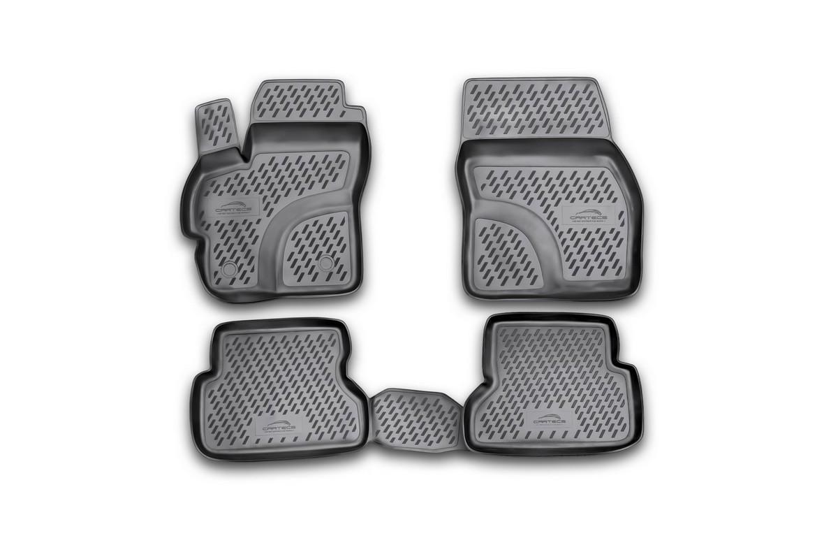 Набор автомобильных ковриков Novline-Autofamily для Mazda 3 2003-2009, в салон, 4 штCARMZD00001Набор автомобильных ковриков Novline-Autofamily, изготовленный из полиуретана, состоит из 4 ковриков, которые учитывают все особенности каждой модели автомобиля и полностью повторяют контуры пола. Полиуретановые автомобильные коврики для салона произведены из высококачественного материала, который держит форму, прочный и не пачкает обувь. Коврики в салон не только улучшат внешний вид салона вашего автомобиля, но и надежно уберегут его от пыли, грязи и сырости, а значит, защитят кузов от коррозии. Полиуретановые коврики для автомобиля гладкие, приятные и не пропускают влагу. Ковры для автомобилей надежно крепятся на полу и не скользят, что очень важно во время движения. Чистятся коврики очень просто: как при помощи автомобильного пылесоса, так и различными моющими средствами. Набор подходит для Mazda 3 2003-2009 годов выпуска.