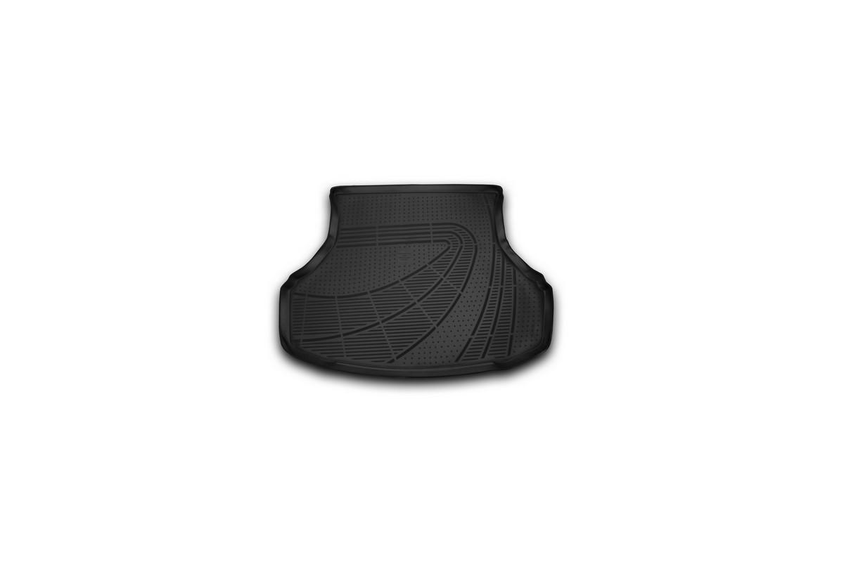 Коврик в багажник автомобиля Novline-Autofamily для Lada Granta, 2011 -E300250E1Автомобильный коврик в багажник позволит вам без особых усилий содержать в чистоте багажный отсек вашего авто и при этом перевозить в нем абсолютно любые грузы. Такой автомобильный коврик гарантированно защитит багажник вашего автомобиля от грязи, мусора и пыли, которые постоянно скапливаются в этом отсеке. А кроме того, поддон не пропускает влагу. Все это надолго убережет важную часть кузова от износа. Мыть коврик для багажника из полиуретана можно любыми чистящими средствами или просто водой. При этом много времени уборка не отнимет, ведь полиуретан устойчив к загрязнениям. Если вам приходится перевозить в багажнике тяжелые грузы, за сохранность автоковрика можете не беспокоиться. Он сделан из прочного материала, который не деформируется при механических нагрузках и устойчив даже к экстремальным температурам. А кроме того, коврик для багажника надежно фиксируется и не сдвигается во время поездки - это дополнительная гарантия сохранности вашего багажа.
