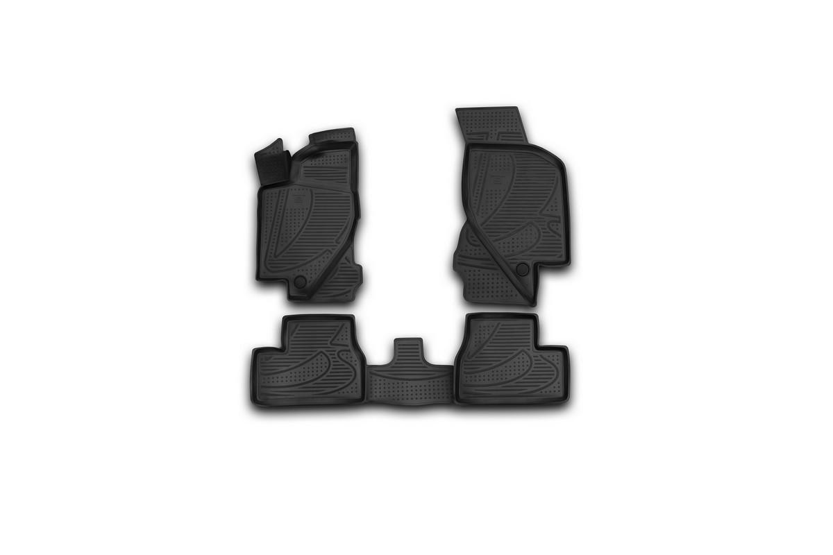 Набор автомобильных 3D -ковриков в салон Novline-Autofamily для Lada Granta, 2011 -, 4 штF520250E1Набор Novline-Autofamily состоит из 4 ковриков, изготовленных из полиуретана. Основная функция ковров - защита салона автомобиля от загрязнения и влаги. Это достигается за счет высоких бортов, перемычки на тоннель заднего ряда сидений, элементов формы и текстуры, свойств материала, а также запатентованной технологией 3D-перемычки в зоне отдыха ноги водителя, что обеспечивает дополнительную защиту, сохраняя салон автомобиля в первозданном виде. Материал, из которого сделаны коврики, обладает антискользящими свойствами. Для фиксации ковров в салоне автомобиля в комплекте с ними используются специальные крепежи. Форма передней части водительского ковра, уходящая под педаль акселератора, исключает нештатное заедание педалей. Набор подходит для Lada Granta с 2011 года выпуска.