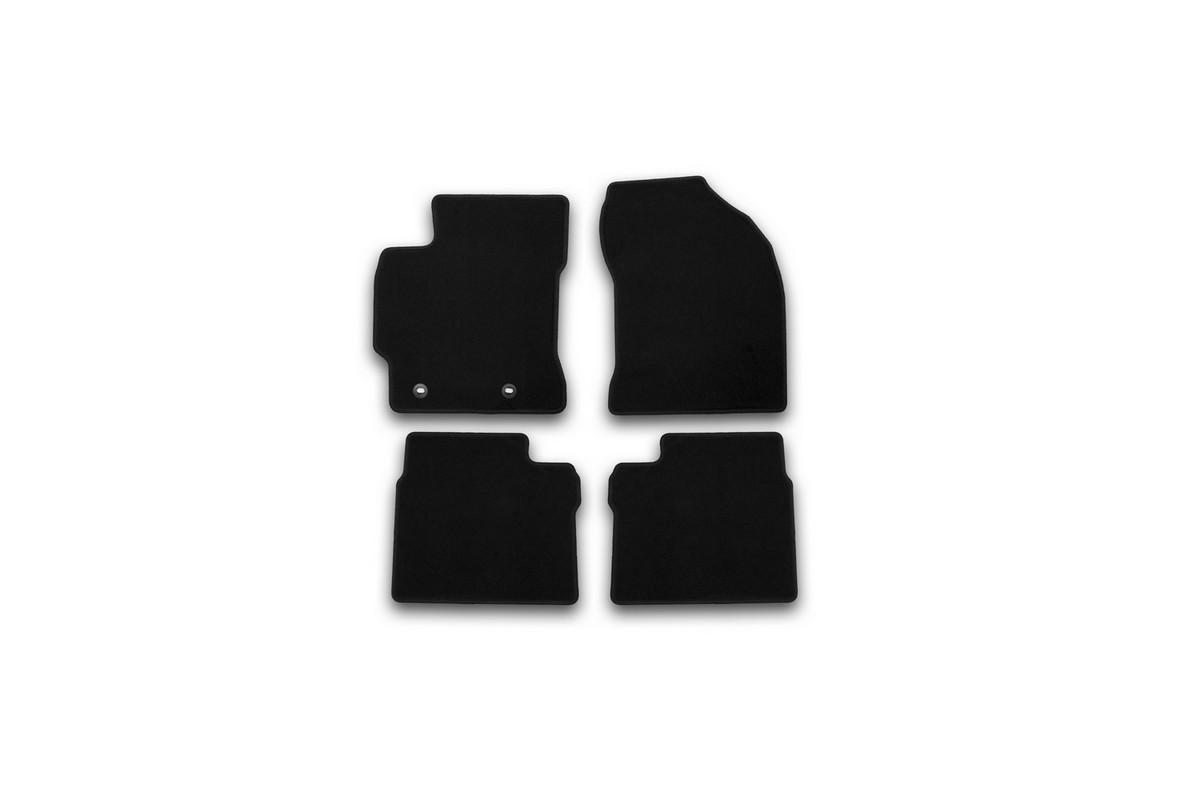 Набор автомобильных ковриков Klever для Toyota Corolla 2013-, седан, в салон, 4 шт. KVR01486901200kKVR01486901200kНабор автомобильных ковриков Klever, изготовленный из текстиля, состоит из 4 ковриков, которые учитывают все особенности каждой модели автомобиля и полностью повторяют контуры пола. Текстильные автомобильные коврики для салона произведены из высококачественного материала, который держит форму, прочный и не пачкает обувь. Коврики в салон не только улучшат внешний вид салона вашего автомобиля, но и надежно уберегут его от пыли, грязи и сырости, а значит, защитят кузов от коррозии. Текстильные коврики для автомобиля мягкие и приятные, а их основа из вспененного полиуретана не пропускает влагу. Ковры для автомобилей надежно крепятся на полу и не скользят, что очень важно во время движения. Чистятся коврики очень просто: как при помощи автомобильного пылесоса, так и различными моющими средствами. Набор подходит для Toyota Corolla седан с 2013 года выпуска.