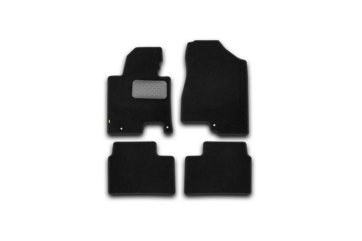 Коврики в салон KIA Ceed АКПП 2012->, хб., ун., 4 шт. (текстиль). KVR02254501210khKVR02254501210khКоврики в салон не только улучшат внешний вид салона вашего автомобиля, но и надежно уберегут его от пыли, грязи и сырости, а значит, защитят кузов от коррозии. Текстильные коврики для автомобиля мягкие и приятные, а их основа из вспененного полиуретана не пропускает влагу.. Автомобильные коврики в салон учитывают все особенности каждой модели авто и полностью повторяют контуры пола. Благодаря этому их не нужно будет подгибать или обрезать. И самое главное — они не будут мешать педалям. Текстильные автомобильные коврики для салона произведены из высококачественного материала, который держит форму и не пачкает обувь. К тому же, этот материал очень прочный (его, к примеру, не получится проткнуть каблуком). Некоторые автоковрики становятся источником неприятного запаха в автомобиле. С текстильными ковриками Novline вы можете этого не бояться. Ковры для автомобилей надежно крепятся на полу и не скользят, что очень важно во время движения, особенно для водителя. Автоковры из текстиля с...