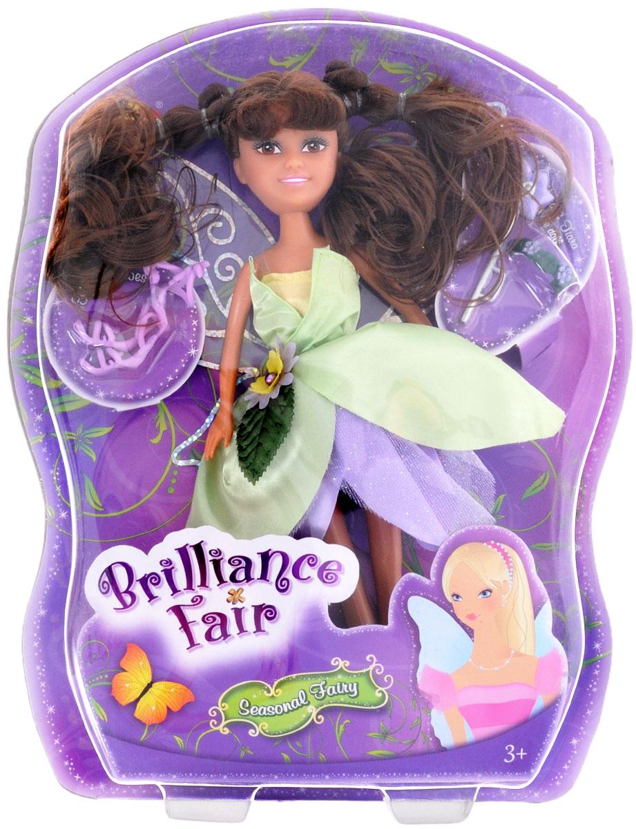 ABtoys Кукла Brilliance Fair Цветочная фея цвет платья салатовый сиреневый