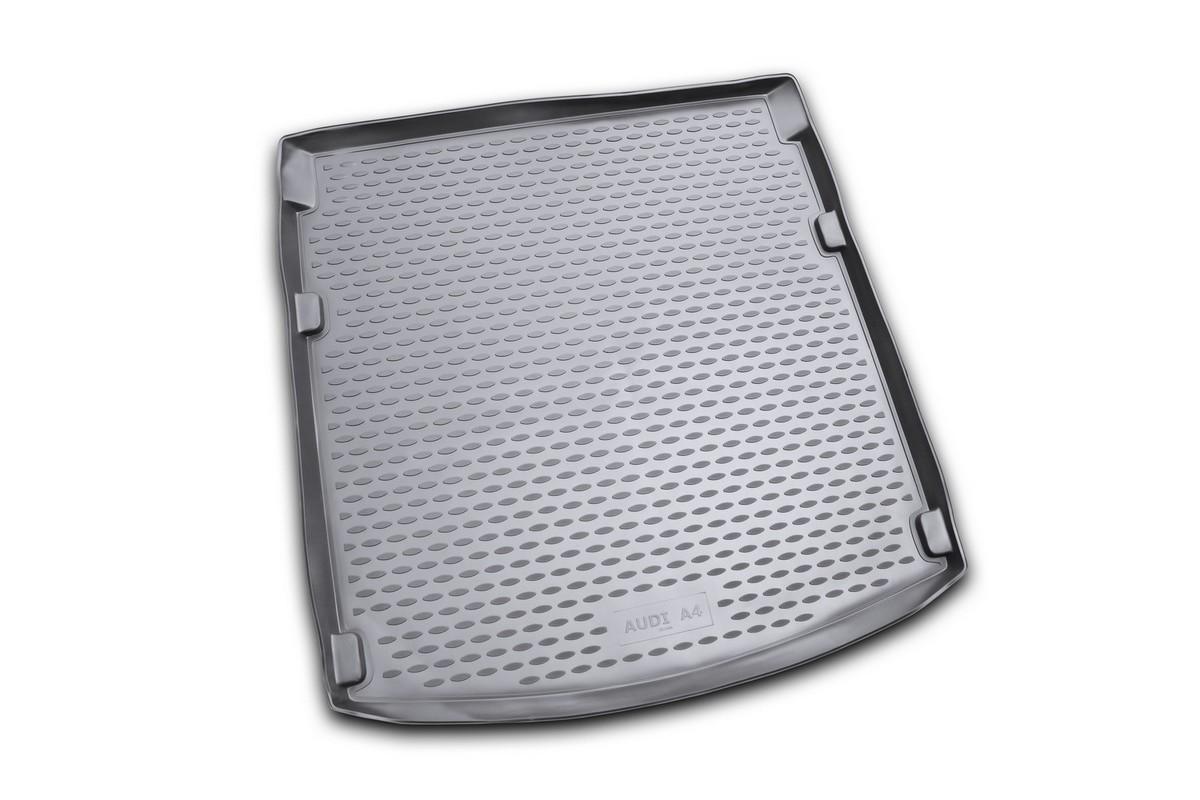 Коврик автомобильный Novline-Autofamily для Audi A4 B8 седан 2007-2015, в багажник, цвет: черныйNLC.04.09.B10Автомобильный коврик Novline-Autofamily, изготовленный из полиуретана, позволит вам без особых усилий содержать в чистоте багажный отсек вашего авто и при этом перевозить в нем абсолютно любые грузы. Этот модельный коврик идеально подойдет по размерам багажнику вашего автомобиля. Такой автомобильный коврик гарантированно защитит багажник от грязи, мусора и пыли, которые постоянно скапливаются в этом отсеке. А кроме того, поддон не пропускает влагу. Все это надолго убережет важную часть кузова от износа. Коврик в багажнике сильно упростит для вас уборку. Согласитесь, гораздо проще достать и почистить один коврик, нежели весь багажный отсек. Тем более, что поддон достаточно просто вынимается и вставляется обратно. Мыть коврик для багажника из полиуретана можно любыми чистящими средствами или просто водой. При этом много времени у вас уборка не отнимет, ведь полиуретан устойчив к загрязнениям. Если вам приходится перевозить в багажнике тяжелые грузы,...