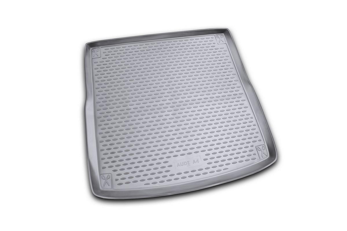 Коврик автомобильный Novline-Autofamily для Audi A4 Allroad универсал 2008-, в багажник. NLC.04.12.B12NLC.04.12.B12Автомобильный коврик Novline-Autofamily, изготовленный из полиуретана, позволит вам без особых усилий содержать в чистоте багажный отсек вашего авто и при этом перевозить в нем абсолютно любые грузы. Этот модельный коврик идеально подойдет по размерам багажнику вашего автомобиля. Такой автомобильный коврик гарантированно защитит багажник от грязи, мусора и пыли, которые постоянно скапливаются в этом отсеке. А кроме того, поддон не пропускает влагу. Все это надолго убережет важную часть кузова от износа. Коврик в багажнике сильно упростит для вас уборку. Согласитесь, гораздо проще достать и почистить один коврик, нежели весь багажный отсек. Тем более, что поддон достаточно просто вынимается и вставляется обратно. Мыть коврик для багажника из полиуретана можно любыми чистящими средствами или просто водой. При этом много времени у вас уборка не отнимет, ведь полиуретан устойчив к загрязнениям. Если вам приходится перевозить в багажнике тяжелые грузы,...