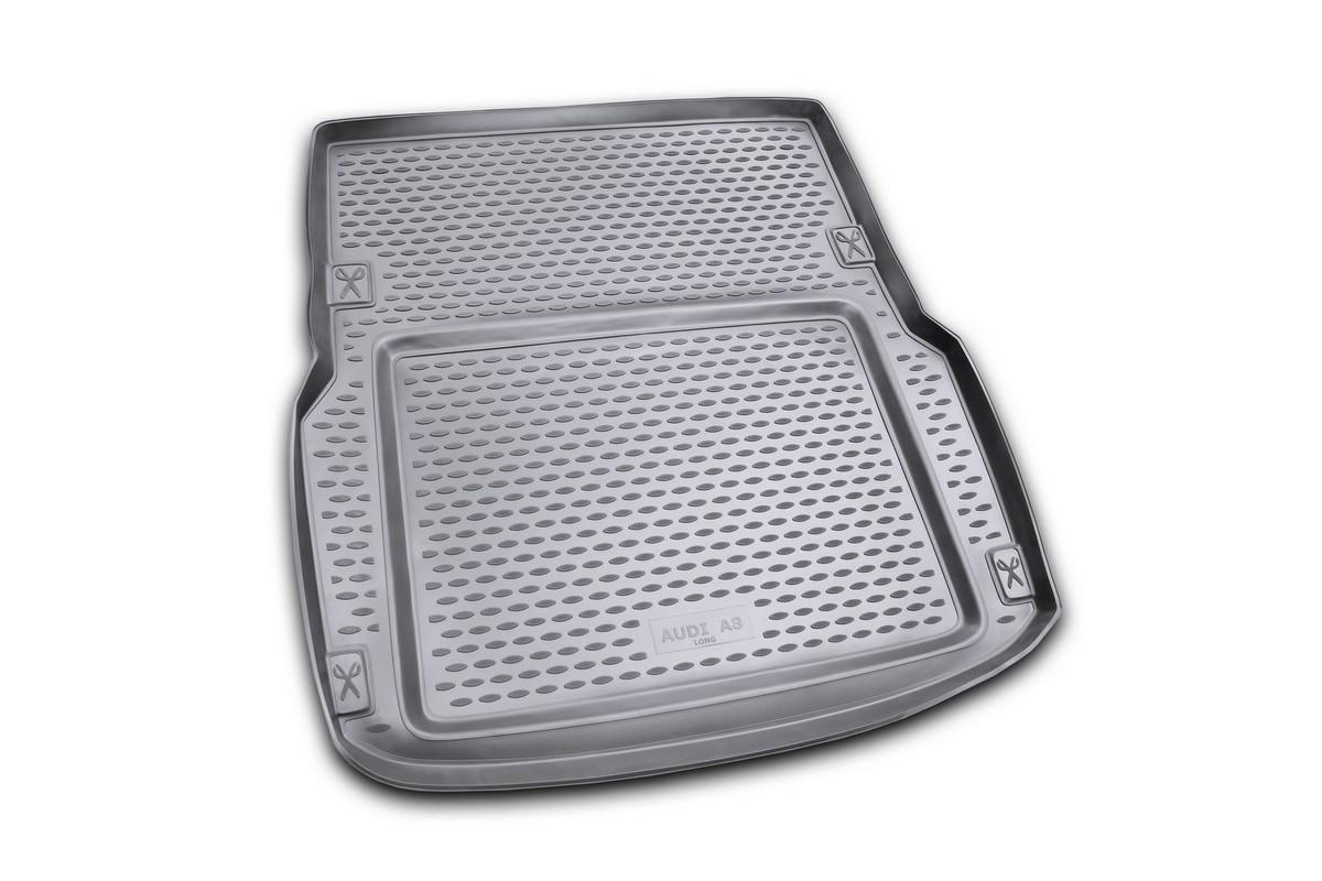 Коврик автомобильный Novline-Autofamily для Audi A8 седан 02/2002-01/2010, в багажникNLC.04.13.B10Автомобильный коврик Novline-Autofamily, изготовленный из полиуретана, позволит вам без особых усилий содержать в чистоте багажный отсек вашего авто и при этом перевозить в нем абсолютно любые грузы. Этот модельный коврик идеально подойдет по размерам багажнику вашего автомобиля. Такой автомобильный коврик гарантированно защитит багажник от грязи, мусора и пыли, которые постоянно скапливаются в этом отсеке. А кроме того, поддон не пропускает влагу. Все это надолго убережет важную часть кузова от износа. Коврик в багажнике сильно упростит для вас уборку. Согласитесь, гораздо проще достать и почистить один коврик, нежели весь багажный отсек. Тем более, что поддон достаточно просто вынимается и вставляется обратно. Мыть коврик для багажника из полиуретана можно любыми чистящими средствами или просто водой. При этом много времени у вас уборка не отнимет, ведь полиуретан устойчив к загрязнениям. Если вам приходится перевозить в багажнике тяжелые грузы,...