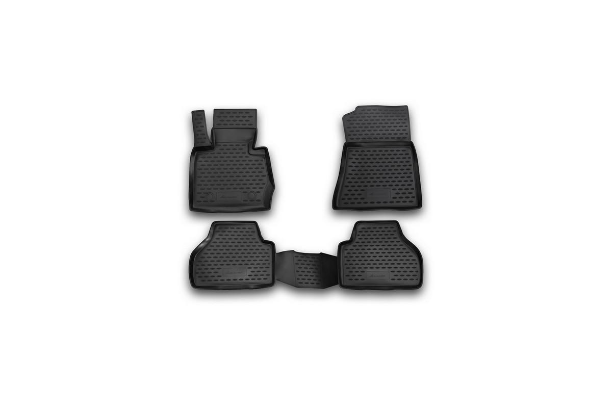 Коврики в салон BMW X3, 2010-> 4 шт. (полиуретан)NLC.05.30.210khКоврики в салон не только улучшат внешний вид салона вашего автомобиля, но и надежно уберегут его от пыли, грязи и сырости, а значит, защитят кузов от коррозии. Полиуретановые коврики для автомобиля гладкие, приятные и не пропускают влагу. Автомобильные коврики в салон учитывают все особенности каждой модели и полностью повторяют контуры пола. Благодаря этому их не нужно будет подгибать или обрезать. И самое главное — они не будут мешать педалям. Полиуретановые автомобильные коврики для салона произведены из высококачественного материала, который держит форму и не пачкает обувь. К тому же, этот материал очень прочный (его, к примеру, не получится проткнуть каблуком). Некоторые автоковрики становятся источником неприятного запаха в автомобиле. С полиуретановыми ковриками Novline вы можете этого не бояться. Ковры для автомобилей надежно крепятся на полу и не скользят, что очень важно во время движения, особенно для водителя. Автоковры из полиуретана надежно удерживают грязь и влагу, при...