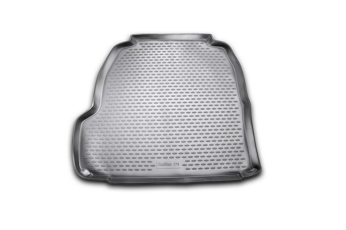 Коврик автомобильный Novline-Autofamily для Cadillac CTS седан 06/2007-, в багажник, цвет: черныйNLC.07.04.B10Автомобильный коврик Novline-Autofamily, изготовленный из полиуретана, позволит вам без особых усилий содержать в чистоте багажный отсек вашего авто и при этом перевозить в нем абсолютно любые грузы. Этот модельный коврик идеально подойдет по размерам багажнику вашего автомобиля. Такой автомобильный коврик гарантированно защитит багажник от грязи, мусора и пыли, которые постоянно скапливаются в этом отсеке. А кроме того, поддон не пропускает влагу. Все это надолго убережет важную часть кузова от износа. Коврик в багажнике сильно упростит для вас уборку. Согласитесь, гораздо проще достать и почистить один коврик, нежели весь багажный отсек. Тем более, что поддон достаточно просто вынимается и вставляется обратно. Мыть коврик для багажника из полиуретана можно любыми чистящими средствами или просто водой. При этом много времени у вас уборка не отнимет, ведь полиуретан устойчив к загрязнениям. Если вам приходится перевозить в багажнике тяжелые грузы,...