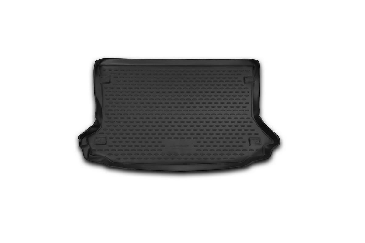 Коврик автомобильный Novline-Autofamily для Ford EcoSport кроссовер 2014-, в багажникNLC.16.59.B13.00Автомобильный коврик Novline-Autofamily, изготовленный из полиуретана, позволит вам без особых усилий содержать в чистоте багажный отсек вашего авто и при этом перевозить в нем абсолютно любые грузы. Этот модельный коврик идеально подойдет по размерам багажнику вашего автомобиля. Такой автомобильный коврик гарантированно защитит багажник от грязи, мусора и пыли, которые постоянно скапливаются в этом отсеке. А кроме того, поддон не пропускает влагу. Все это надолго убережет важную часть кузова от износа. Коврик в багажнике сильно упростит для вас уборку. Согласитесь, гораздо проще достать и почистить один коврик, нежели весь багажный отсек. Тем более, что поддон достаточно просто вынимается и вставляется обратно. Мыть коврик для багажника из полиуретана можно любыми чистящими средствами или просто водой. При этом много времени у вас уборка не отнимет, ведь полиуретан устойчив к загрязнениям. Если вам приходится перевозить в багажнике тяжелые грузы,...