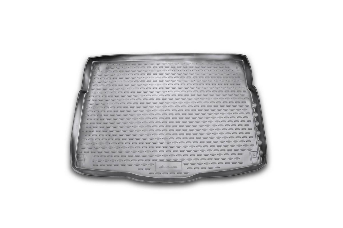 Коврик в багажник автомобиля Novline-Autofamily для Hyundai i30, 2012 -NLC.20.51.B11Автомобильный коврик в багажник позволит вам без особых усилий содержать в чистоте багажный отсек вашего авто и при этом перевозить в нем абсолютно любые грузы. Такой автомобильный коврик гарантированно защитит багажник вашего автомобиля от грязи, мусора и пыли, которые постоянно скапливаются в этом отсеке. А кроме того, поддон не пропускает влагу. Все это надолго убережет важную часть кузова от износа. Мыть коврик для багажника из полиуретана можно любыми чистящими средствами или просто водой. При этом много времени уборка не отнимет, ведь полиуретан устойчив к загрязнениям. Если вам приходится перевозить в багажнике тяжелые грузы, за сохранность автоковрика можете не беспокоиться. Он сделан из прочного материала, который не деформируется при механических нагрузках и устойчив даже к экстремальным температурам. А кроме того, коврик для багажника надежно фиксируется и не сдвигается во время поездки - это дополнительная гарантия сохранности вашего багажа.