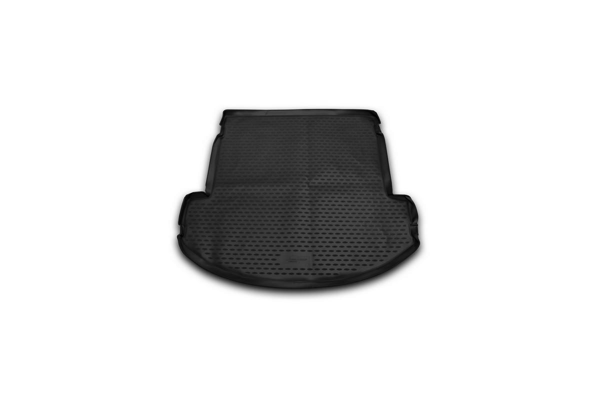 Коврик автомобильный Novline-Autofamily для Hyundai Grand Santa Fe внедорожник 2013-, в багажник коврик в багажник novline hyundai grand santa fe кроссовер 2013 разложенные сиденья заднего ряда полиуретан nlc 20 58 b13