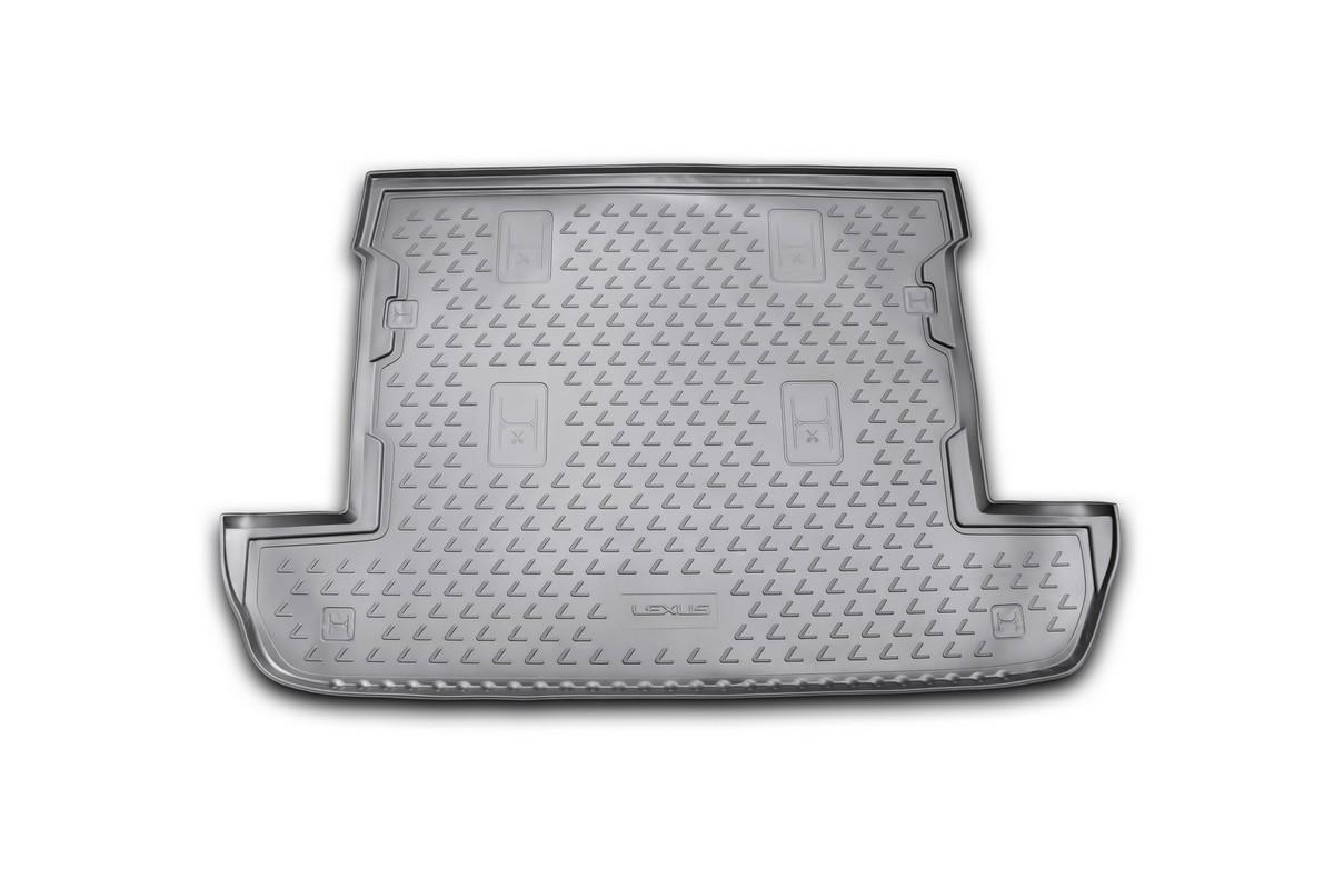 Коврик в багажник LEXUS LX 570 2007-2012, 2012->, внед. 7 мест, кор. (полиуретан)NLC.29.07.B12Автомобильный коврик в багажник позволит вам без особых усилий содержать в чистоте багажный отсек вашего авто и при этом перевозить в нем абсолютно любые грузы. Этот модельный коврик идеально подойдет по размерам багажнику вашего авто. Такой автомобильный коврик гарантированно защитит багажник вашего автомобиля от грязи, мусора и пыли, которые постоянно скапливаются в этом отсеке. А кроме того, поддон не пропускает влагу. Все это надолго убережет важную часть кузова от износа. Коврик в багажнике сильно упростит для вас уборку. Согласитесь, гораздо проще достать и почистить один коврик, нежели весь багажный отсек. Тем более, что поддон достаточно просто вынимается и вставляется обратно. Мыть коврик для багажника из полиуретана можно любыми чистящими средствами или просто водой. При этом много времени у вас уборка не отнимет, ведь полиуретан устойчив к загрязнениям. Если вам приходится перевозить в багажнике тяжелые грузы, за сохранность автоковрика можете не беспокоиться. Он сделан...