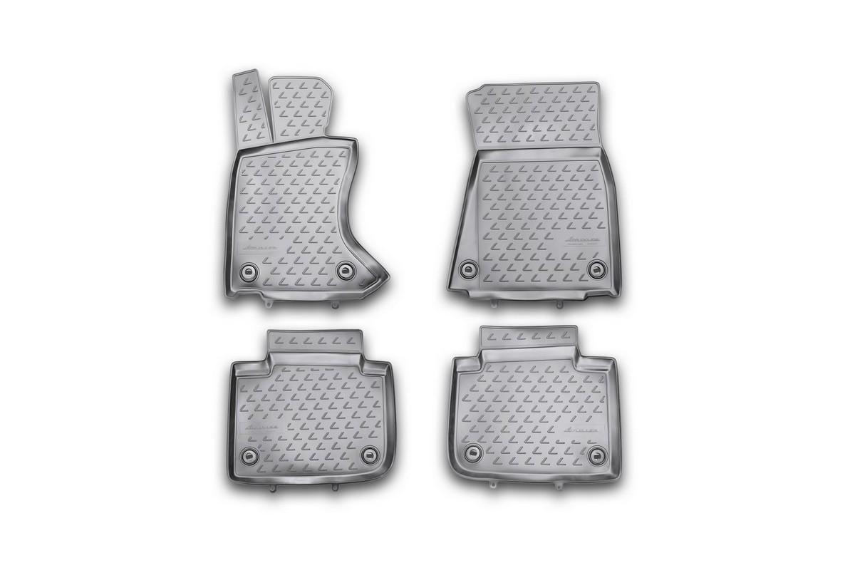 Набор автомобильных ковриков Novline-Autofamily для Lexus GS 350 2012-, в салон, 4 штNLC.29.22.210khНабор автомобильных ковриков Novline-Autofamily, изготовленный из полиуретана, состоит из 4 ковриков, которые учитывают все особенности каждой модели автомобиля и полностью повторяют контуры пола. Полиуретановые автомобильные коврики для салона произведены из высококачественного материала, который держит форму, прочный и не пачкает обувь. Коврики в салон не только улучшат внешний вид салона вашего автомобиля, но и надежно уберегут его от пыли, грязи и сырости, а значит, защитят кузов от коррозии. Полиуретановые коврики для автомобиля гладкие, приятные и не пропускают влагу. Ковры для автомобилей надежно крепятся на полу и не скользят, что очень важно во время движения. Чистятся коврики очень просто: как при помощи автомобильного пылесоса, так и различными моющими средствами. Набор подходит для Lexus GS 350 с 2012 года выпуска.