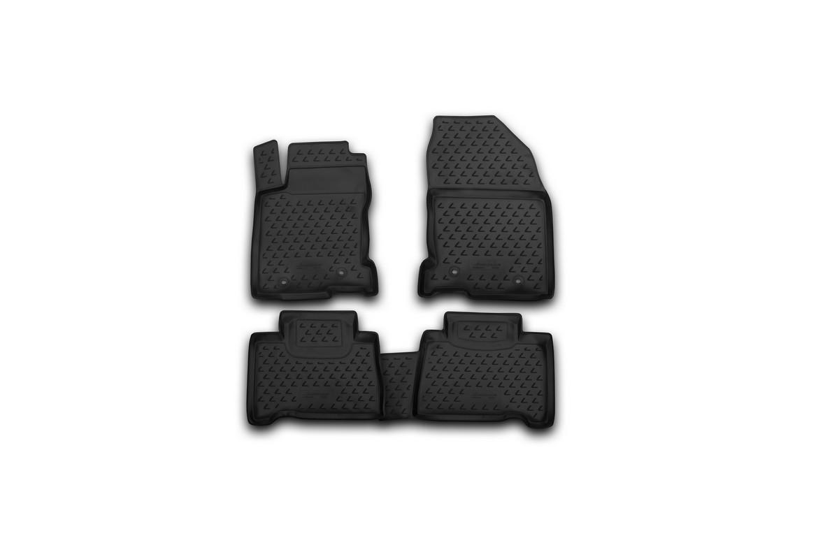 Набор автомобильных ковриков Novline-Autofamily для Lexus NX 2014-, в салон, 4 штNLC.29.35.210kНабор автомобильных ковриков Novline-Autofamily, изготовленный из полиуретана, состоит из 4 ковриков, которые учитывают все особенности каждой модели автомобиля и полностью повторяют контуры пола. Полиуретановые автомобильные коврики для салона произведены из высококачественного материала, который держит форму, прочный и не пачкает обувь. Коврики в салон не только улучшат внешний вид салона вашего автомобиля, но и надежно уберегут его от пыли, грязи и сырости, а значит, защитят кузов от коррозии. Полиуретановые коврики для автомобиля гладкие, приятные и не пропускают влагу. Ковры для автомобилей надежно крепятся на полу и не скользят, что очень важно во время движения. Чистятся коврики очень просто: как при помощи автомобильного пылесоса, так и различными моющими средствами. Набор подходит для Lexus NX с 2014 года выпуска.