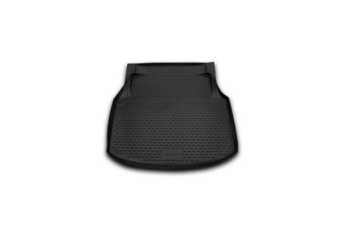 """Коврик автомобильный """"Novline-Autofamily"""" для Mercedes-Benz С-Klasse W204 седан 2007-2014, в багажник"""