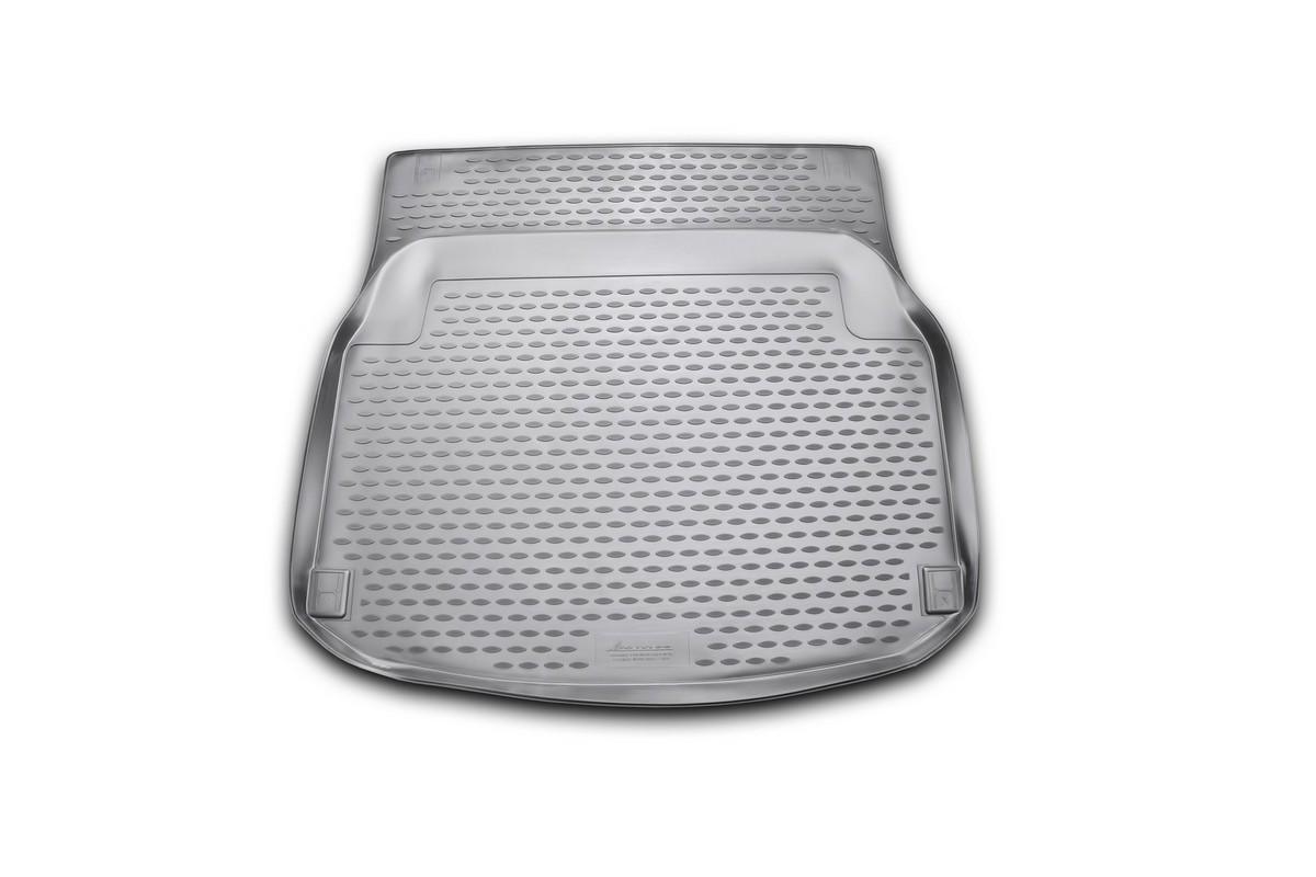"""Коврик автомобильный """"Novline-Autofamily"""" для Mercedes-Benz С-Klasse W204 седан 2011-, в багажник"""