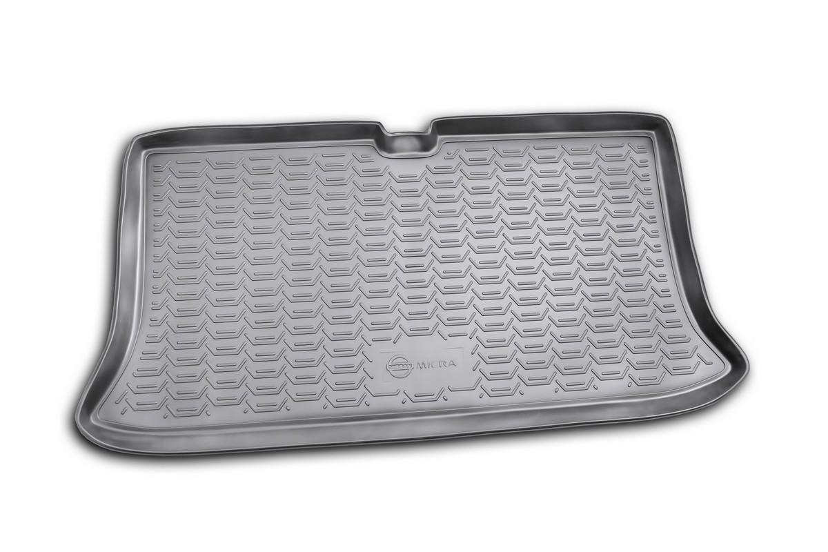 Коврик в багажник NISSAN Micra 2005->, хб. (полиуретан). NLC.36.08.B11NLC.36.08.B11Автомобильный коврик в багажник позволит вам без особых усилий содержать в чистоте багажный отсек вашего авто и при этом перевозить в нем абсолютно любые грузы. Этот модельный коврик идеально подойдет по размерам багажнику вашего авто. Такой автомобильный коврик гарантированно защитит багажник вашего автомобиля от грязи, мусора и пыли, которые постоянно скапливаются в этом отсеке. А кроме того, поддон не пропускает влагу. Все это надолго убережет важную часть кузова от износа. Коврик в багажнике сильно упростит для вас уборку. Согласитесь, гораздо проще достать и почистить один коврик, нежели весь багажный отсек. Тем более, что поддон достаточно просто вынимается и вставляется обратно. Мыть коврик для багажника из полиуретана можно любыми чистящими средствами или просто водой. При этом много времени у вас уборка не отнимет, ведь полиуретан устойчив к загрязнениям. Если вам приходится перевозить в багажнике тяжелые грузы, за сохранность автоковрика можете не беспокоиться. Он сделан...