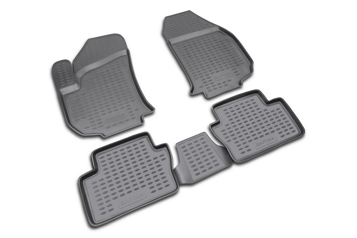 Набор автомобильных ковриков Novline-Autofamily для Opel Zafira 2005-, в салон, 4 штNLC.37.09.210kНабор автомобильных ковриков Novline-Autofamily, изготовленный из полиуретана, состоит из 4 ковриков, которые учитывают все особенности каждой модели автомобиля и полностью повторяют контуры пола. Полиуретановые автомобильные коврики для салона произведены из высококачественного материала, который держит форму, прочный и не пачкает обувь. Коврики в салон не только улучшат внешний вид салона вашего автомобиля, но и надежно уберегут его от пыли, грязи и сырости, а значит, защитят кузов от коррозии. Полиуретановые коврики для автомобиля гладкие, приятные и не пропускают влагу. Ковры для автомобилей надежно крепятся на полу и не скользят, что очень важно во время движения. Чистятся коврики очень просто: как при помощи автомобильного пылесоса, так и различными моющими средствами. Набор подходит для Opel Zafira с 2005 года выпуска.