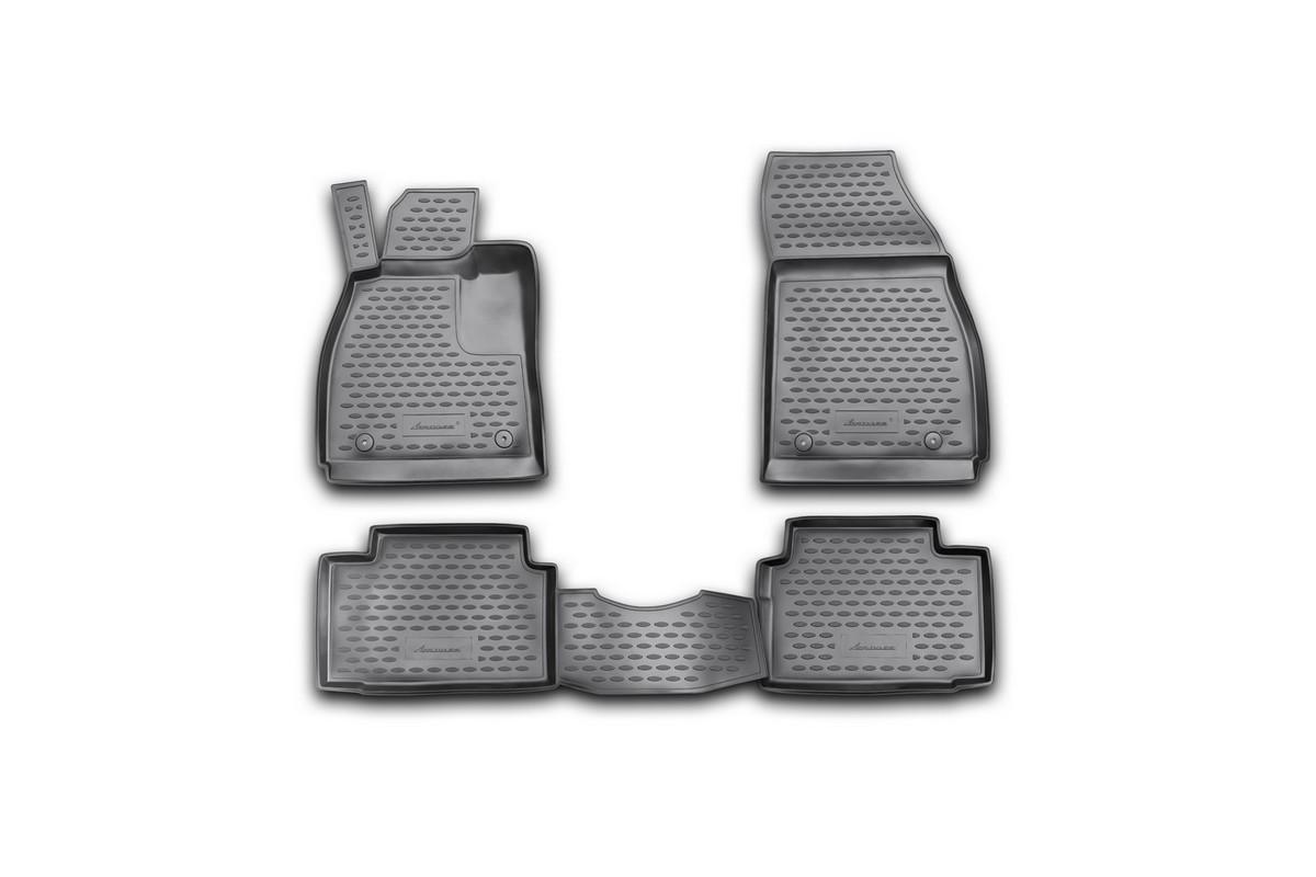 Набор автомобильных ковриков Novline-Autofamily для Opel Insignia 2008-, в салон, 4 шт. NLC.37.22.210kNLC.37.22.210kНабор автомобильных ковриков Novline-Autofamily, изготовленный из полиуретана, состоит из 4 ковриков, которые учитывают все особенности каждой модели автомобиля и полностью повторяют контуры пола. Полиуретановые автомобильные коврики для салона произведены из высококачественного материала, который держит форму, прочный и не пачкает обувь. Коврики в салон не только улучшат внешний вид салона вашего автомобиля, но и надежно уберегут его от пыли, грязи и сырости, а значит, защитят кузов от коррозии. Полиуретановые коврики для автомобиля гладкие, приятные и не пропускают влагу. Ковры для автомобилей надежно крепятся на полу и не скользят, что очень важно во время движения. Чистятся коврики очень просто: как при помощи автомобильного пылесоса, так и различными моющими средствами. Набор подходит для Opel Insignia с 2008 года выпуска.