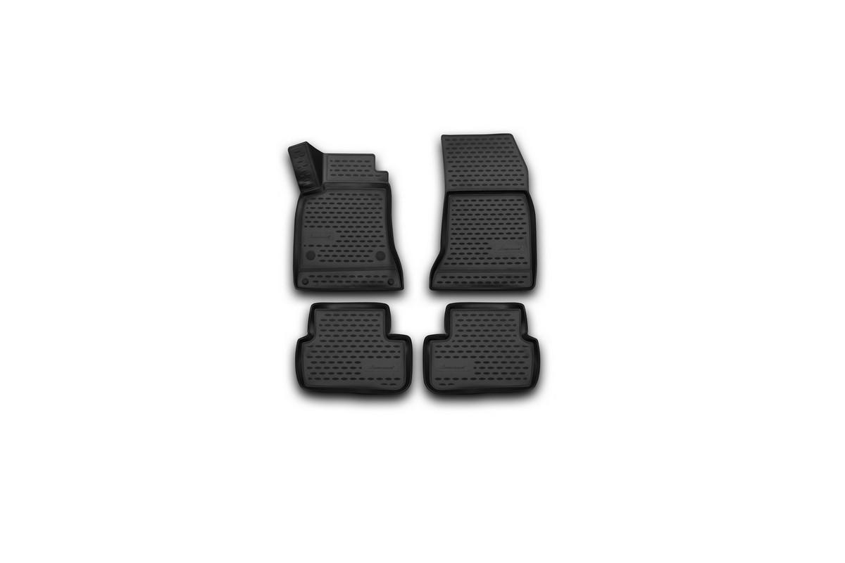 Коврики 3D в салон автомобиля Novline-Autofamily для Mercedes-Benz GLA, 2015 -, 4 штNLC.3D.34.45.210kКоврики Novline-Autofamily улучшат внешний вид салона автомобиля и надежно уберегут его от пыли, грязи и сырости, а значит, защитят кузов от коррозии. Полиуретановые коврики гладкие, приятные и не пропускает влагу. Полиуретановые автомобильные коврики произведены из высококачественного материала, который держит форму и не пачкает обувь. Коврики надежно крепятся на полу и не скользят, что очень важно во время движения, особенно для водителя. Изделия из полиуретана надежно удерживают грязь и влагу, при этом всегда выглядят довольно опрятно. И чистится они очень просто: как при помощи автомобильного пылесоса, так и различными моющими средствами.