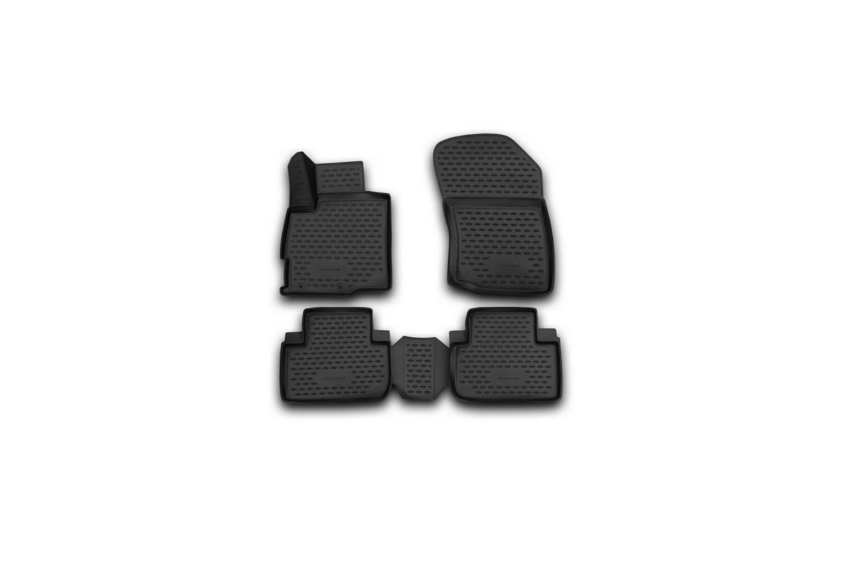 Коврики 3D в салон автомобиля Novline-Autofamily для Mitsubishi Outlander 2 wd, 2012 - 2015, 2015 -, 4 штNLC.3D.35.28.210Коврики Novline-Autofamily улучшат внешний вид салона автомобиля и надежно уберегут его от пыли, грязи и сырости, а значит, защитят кузов от коррозии. Полиуретановые коврики гладкие, приятные и не пропускает влагу. Полиуретановые автомобильные коврики произведены из высококачественного материала, который держит форму и не пачкает обувь. Коврики надежно крепятся на полу и не скользят, что очень важно во время движения, особенно для водителя. Изделия из полиуретана надежно удерживают грязь и влагу, при этом всегда выглядят довольно опрятно. И чистится они очень просто: как при помощи автомобильного пылесоса, так и различными моющими средствами.