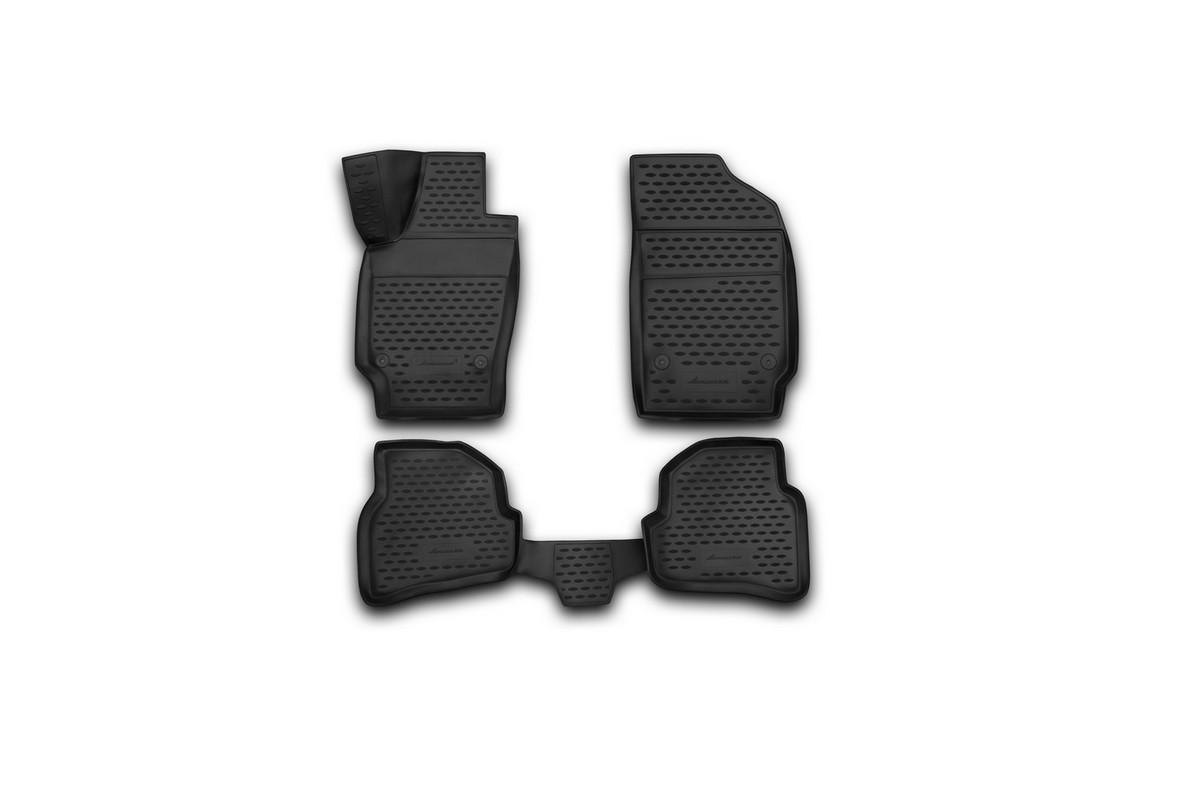 Коврики 3D в салон автомобиля Novline-Autofamily для VW Polo, 2010 -, седан, 4 штNLC.3D.51.30.210kКоврики Novline-Autofamily улучшат внешний вид салона автомобиля и надежно уберегут его от пыли, грязи и сырости, а значит, защитят кузов от коррозии. Полиуретановые коврики гладкие, приятные и не пропускает влагу. Полиуретановые автомобильные коврики произведены из высококачественного материала, который держит форму и не пачкает обувь. Коврики надежно крепятся на полу и не скользят, что очень важно во время движения, особенно для водителя. Изделия из полиуретана надежно удерживают грязь и влагу, при этом всегда выглядят довольно опрятно. И чистится они очень просто: как при помощи автомобильного пылесоса, так и различными моющими средствами.
