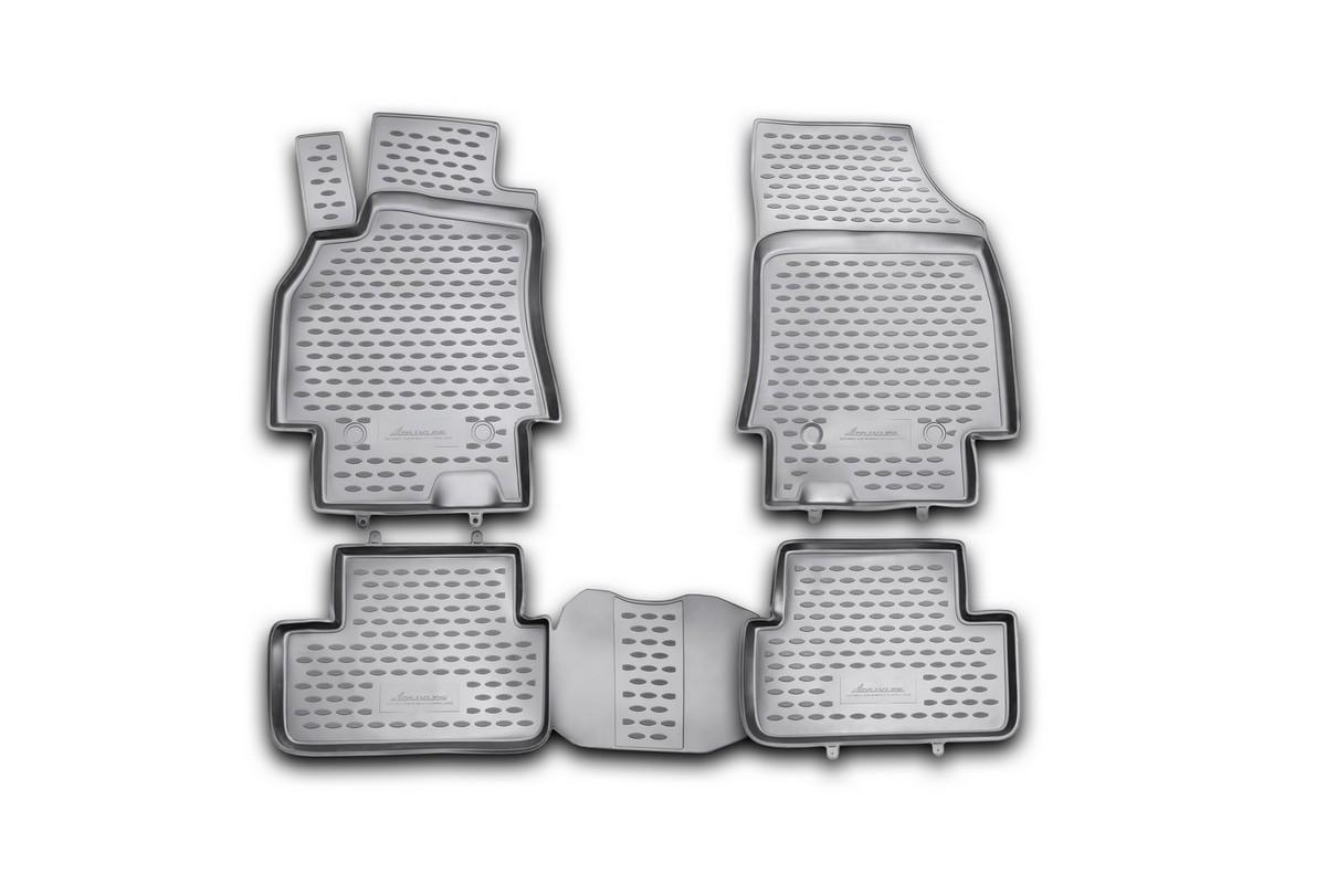 Набор автомобильных ковриков Novline-Autofamily для Renault Fluence 2010-, в салон, 4 шт. NLC.41.19.210khNLC.41.19.210khНабор автомобильных ковриков Novline-Autofamily, изготовленный из полиуретана, состоит из 4 ковриков, которые учитывают все особенности каждой модели автомобиля и полностью повторяют контуры пола. Полиуретановые автомобильные коврики для салона произведены из высококачественного материала, который держит форму, прочный и не пачкает обувь. Коврики в салон не только улучшат внешний вид салона вашего автомобиля, но и надежно уберегут его от пыли, грязи и сырости, а значит, защитят кузов от коррозии. Полиуретановые коврики для автомобиля гладкие, приятные и не пропускают влагу. Ковры для автомобилей надежно крепятся на полу и не скользят, что очень важно во время движения. Чистятся коврики очень просто: как при помощи автомобильного пылесоса, так и различными моющими средствами. Набор подходит для Renault Fluence с 2010 года выпуска.
