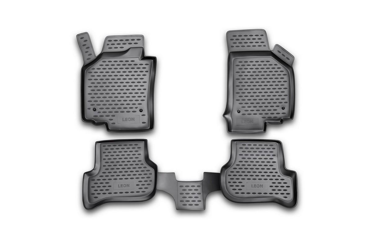 Коврики в салон SEAT Leon 10/2007->, 4 шт. (полиуретан)NLC.44.02.210Коврики в салон не только улучшат внешний вид салона вашего автомобиля, но и надежно уберегут его от пыли, грязи и сырости, а значит, защитят кузов от коррозии. Полиуретановые коврики для автомобиля гладкие, приятные и не пропускают влагу. Автомобильные коврики в салон учитывают все особенности каждой модели и полностью повторяют контуры пола. Благодаря этому их не нужно будет подгибать или обрезать. И самое главное — они не будут мешать педалям. Полиуретановые автомобильные коврики для салона произведены из высококачественного материала, который держит форму и не пачкает обувь. К тому же, этот материал очень прочный (его, к примеру, не получится проткнуть каблуком). Некоторые автоковрики становятся источником неприятного запаха в автомобиле. С полиуретановыми ковриками Novline вы можете этого не бояться. Ковры для автомобилей надежно крепятся на полу и не скользят, что очень важно во время движения, особенно для водителя. Автоковры из полиуретана надежно удерживают грязь и влагу, при...