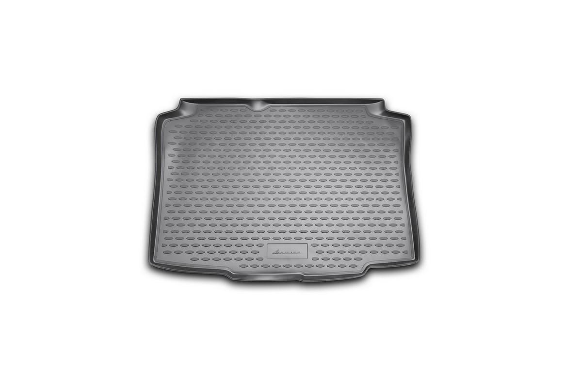 """Коврик автомобильный """"Novline-Autofamily"""" для Seat Ibiza 3D / 5D хэтчбек 2005, 2008-, в багажник NLC.44.03.B11"""