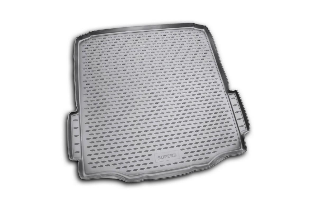 """Коврик автомобильный """"Novline-Autofamily"""" для Skoda Superb седан 2008-, в багажник"""