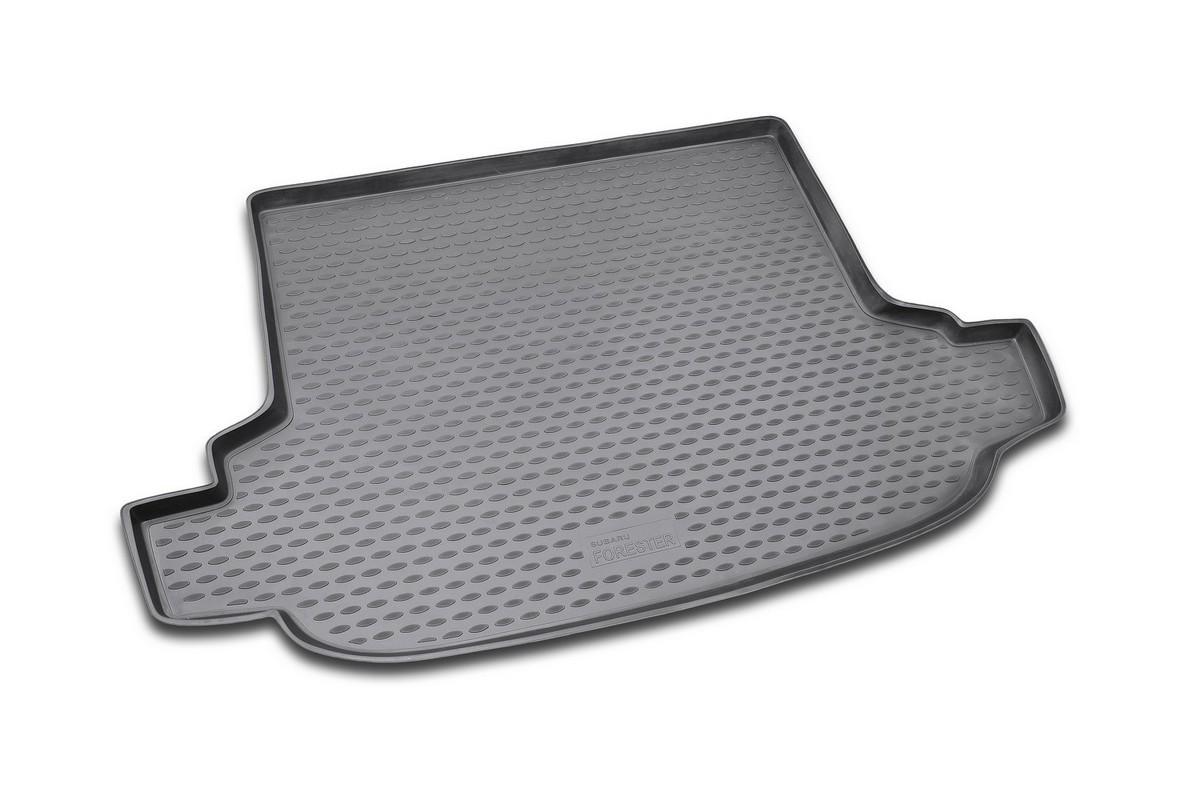 Коврик в багажник SUBARU Forester 2.5 XT 2008-2013, кросс. (полиуретан)NLC.46.08.B13Автомобильный коврик в багажник позволит вам без особых усилий содержать в чистоте багажный отсек вашего авто и при этом перевозить в нем абсолютно любые грузы. Этот модельный коврик идеально подойдет по размерам багажнику вашего авто. Такой автомобильный коврик гарантированно защитит багажник вашего автомобиля от грязи, мусора и пыли, которые постоянно скапливаются в этом отсеке. А кроме того, поддон не пропускает влагу. Все это надолго убережет важную часть кузова от износа. Коврик в багажнике сильно упростит для вас уборку. Согласитесь, гораздо проще достать и почистить один коврик, нежели весь багажный отсек. Тем более, что поддон достаточно просто вынимается и вставляется обратно. Мыть коврик для багажника из полиуретана можно любыми чистящими средствами или просто водой. При этом много времени у вас уборка не отнимет, ведь полиуретан устойчив к загрязнениям. Если вам приходится перевозить в багажнике тяжелые грузы, за сохранность автоковрика можете не беспокоиться. Он сделан...