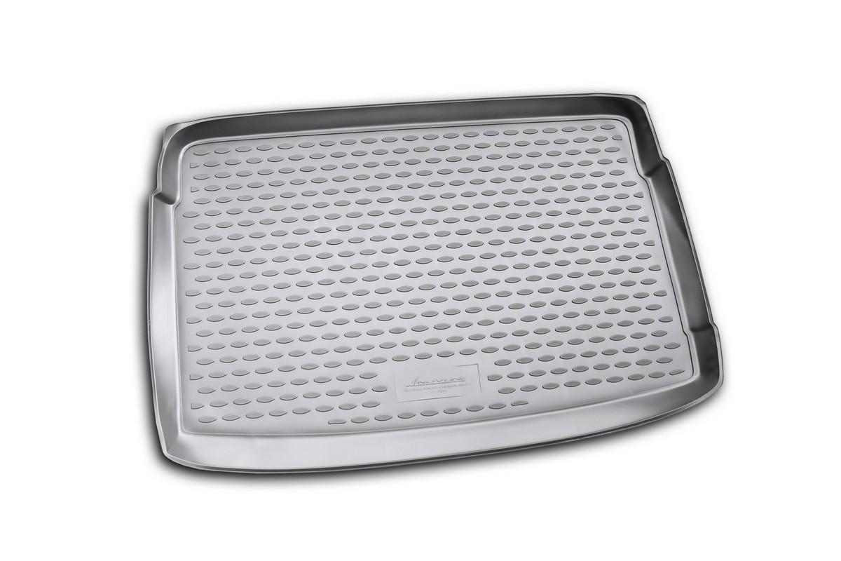 """Коврик автомобильный """"Novline-Autofamily"""" для Volkswagen Polo V хэтчбек 2009-2012, в багажник. NLC.51.28.BV11"""