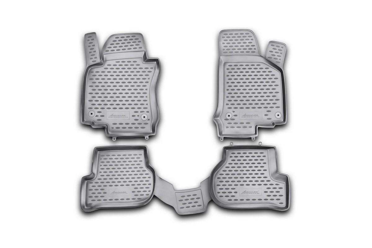 Коврики в салон VW Golf VI 04/2009->, хб., 4 шт., без подлок. (полиуретан)NLC.51.29.210kКоврики в салон не только улучшат внешний вид салона вашего автомобиля, но и надежно уберегут его от пыли, грязи и сырости, а значит, защитят кузов от коррозии. Полиуретановые коврики для автомобиля гладкие, приятные и не пропускают влагу. Автомобильные коврики в салон учитывают все особенности каждой модели и полностью повторяют контуры пола. Благодаря этому их не нужно будет подгибать или обрезать. И самое главное — они не будут мешать педалям. Полиуретановые автомобильные коврики для салона произведены из высококачественного материала, который держит форму и не пачкает обувь. К тому же, этот материал очень прочный (его, к примеру, не получится проткнуть каблуком). Некоторые автоковрики становятся источником неприятного запаха в автомобиле. С полиуретановыми ковриками Novline вы можете этого не бояться. Ковры для автомобилей надежно крепятся на полу и не скользят, что очень важно во время движения, особенно для водителя. Автоковры из полиуретана надежно удерживают грязь и влагу, при...