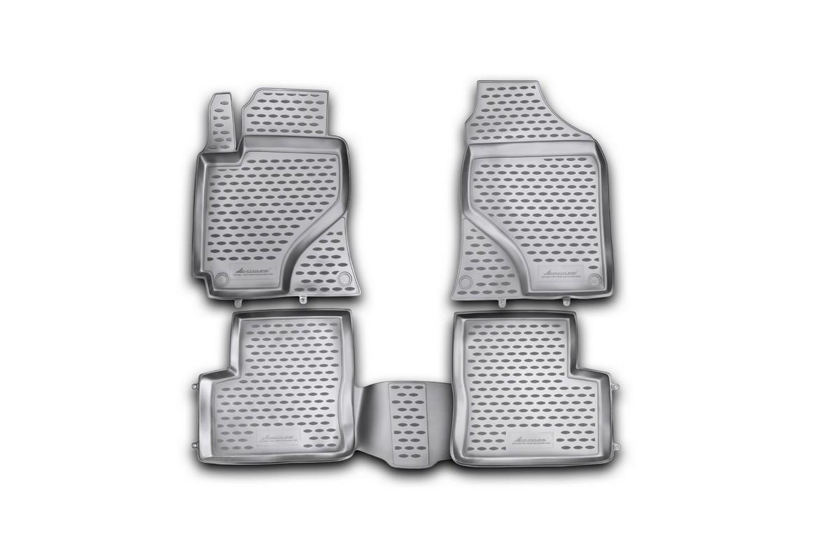 Набор автомобильных ковриков Novline-Autofamily для Lifan 620 Solano 2010-, в салон, 4 шт. NLC.73.02.210khNLC.73.02.210khНабор автомобильных ковриков Novline-Autofamily, изготовленный из полиуретана, состоит из 4 ковриков, которые учитывают все особенности каждой модели автомобиля и полностью повторяют контуры пола. Полиуретановые автомобильные коврики для салона произведены из высококачественного материала, который держит форму, прочный и не пачкает обувь. Коврики в салон не только улучшат внешний вид салона вашего автомобиля, но и надежно уберегут его от пыли, грязи и сырости, а значит, защитят кузов от коррозии. Полиуретановые коврики для автомобиля гладкие, приятные и не пропускают влагу. Ковры для автомобилей надежно крепятся на полу и не скользят, что очень важно во время движения. Чистятся коврики очень просто: как при помощи автомобильного пылесоса, так и различными моющими средствами. Набор подходит для Lifan 620 Solano с 2010 года выпуска.