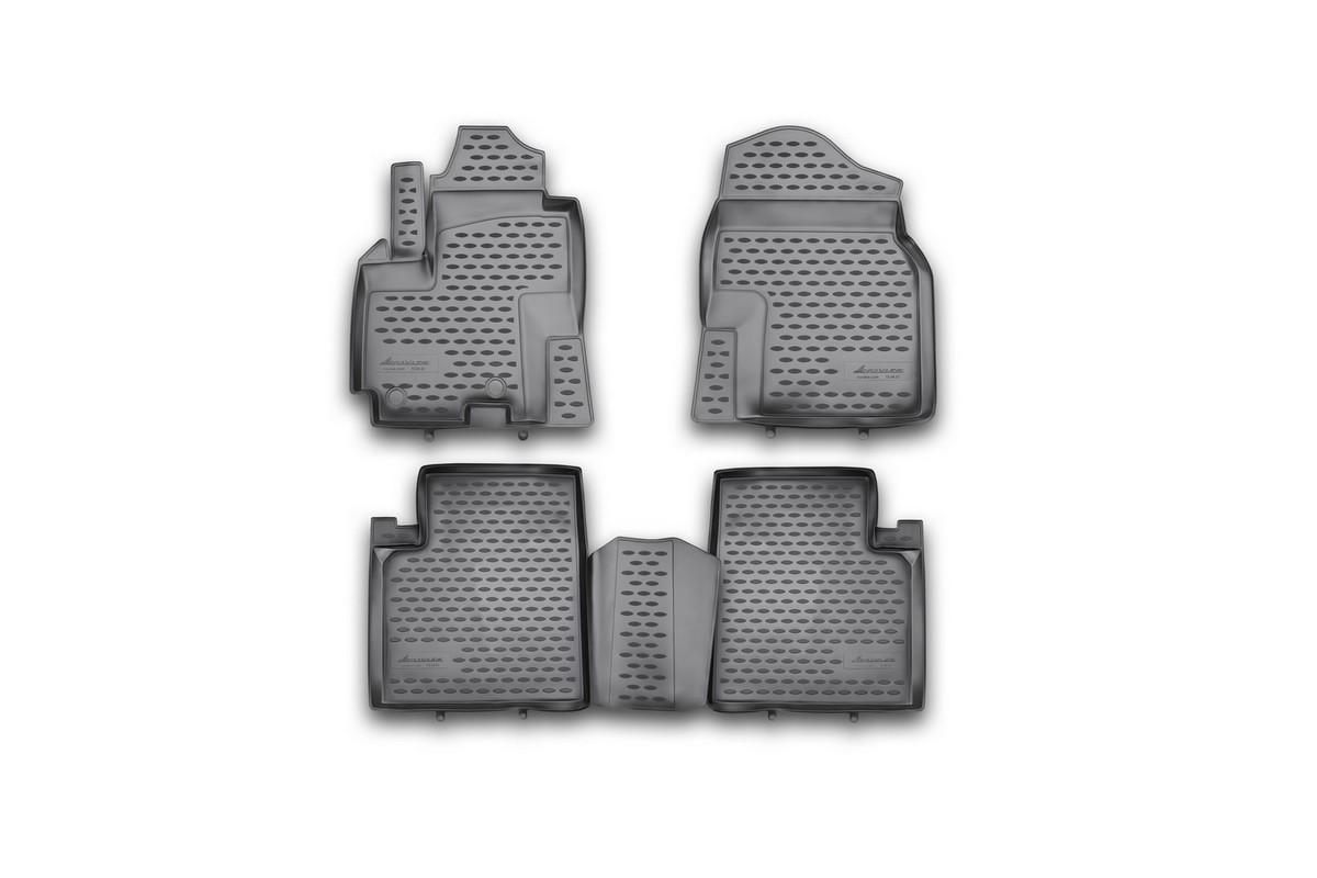 Коврики в салон LIFAN X 60, 2012-> 4 шт. (полиуретан)NLC.73.04.210khКоврики в салон не только улучшат внешний вид салона вашего автомобиля, но и надежно уберегут его от пыли, грязи и сырости, а значит, защитят кузов от коррозии. Полиуретановые коврики для автомобиля гладкие, приятные и не пропускают влагу. Автомобильные коврики в салон учитывают все особенности каждой модели и полностью повторяют контуры пола. Благодаря этому их не нужно будет подгибать или обрезать. И самое главное — они не будут мешать педалям. Полиуретановые автомобильные коврики для салона произведены из высококачественного материала, который держит форму и не пачкает обувь. К тому же, этот материал очень прочный (его, к примеру, не получится проткнуть каблуком). Некоторые автоковрики становятся источником неприятного запаха в автомобиле. С полиуретановыми ковриками Novline вы можете этого не бояться. Ковры для автомобилей надежно крепятся на полу и не скользят, что очень важно во время движения, особенно для водителя. Автоковры из полиуретана надежно удерживают грязь и влагу, при...