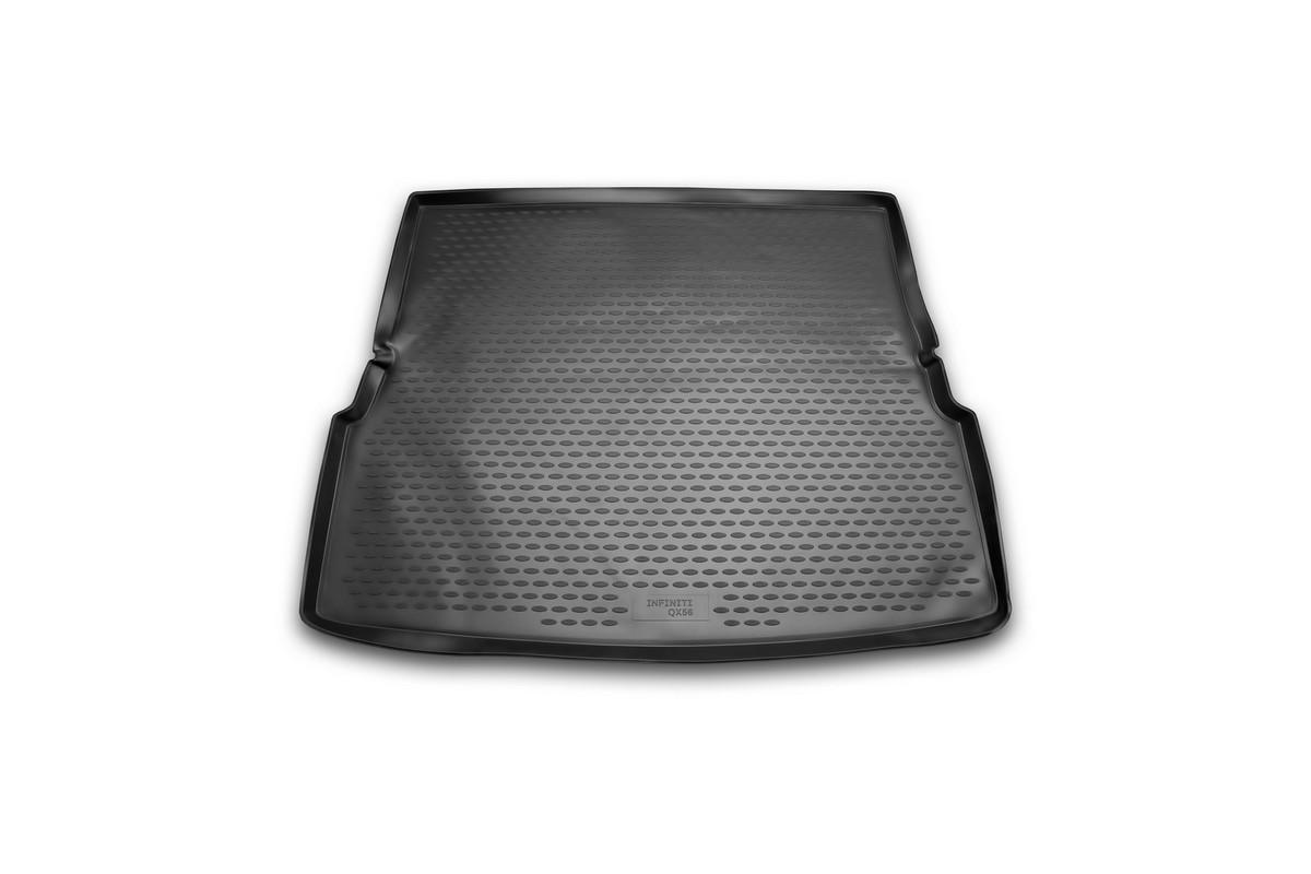 Коврик автомобильный Novline-Autofamily для Infiniti QX56 внедорожник 2004-2010, в багажник. NLC.76.02.B13gNLC.76.02.B13gАвтомобильный коврик Novline-Autofamily, изготовленный из полиуретана, позволит вам без особых усилий содержать в чистоте багажный отсек вашего авто и при этом перевозить в нем абсолютно любые грузы. Этот модельный коврик идеально подойдет по размерам багажнику вашего автомобиля. Такой автомобильный коврик гарантированно защитит багажник от грязи, мусора и пыли, которые постоянно скапливаются в этом отсеке. А кроме того, поддон не пропускает влагу. Все это надолго убережет важную часть кузова от износа. Коврик в багажнике сильно упростит для вас уборку. Согласитесь, гораздо проще достать и почистить один коврик, нежели весь багажный отсек. Тем более, что поддон достаточно просто вынимается и вставляется обратно. Мыть коврик для багажника из полиуретана можно любыми чистящими средствами или просто водой. При этом много времени у вас уборка не отнимет, ведь полиуретан устойчив к загрязнениям. Если вам приходится перевозить в багажнике тяжелые грузы,...