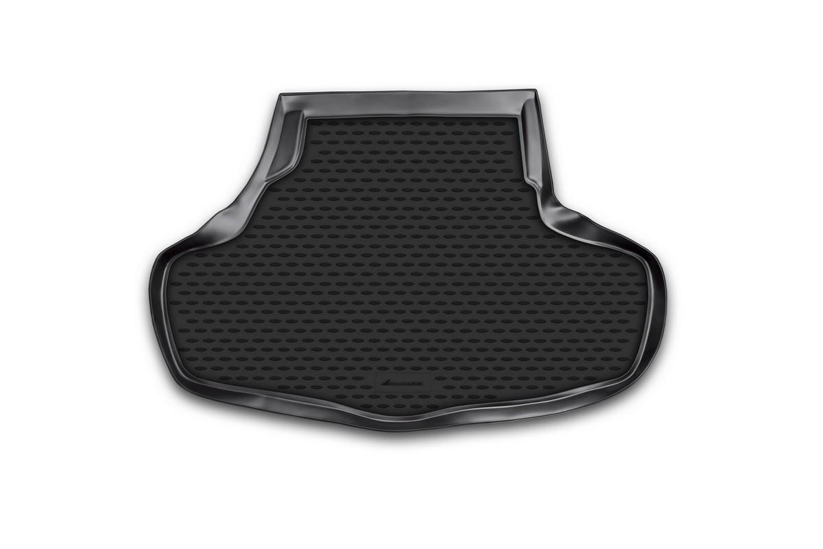 Коврик автомобильный Novline-Autofamily для Infinity G37X седан 2001, 2009-, в багажник. NLC.76.06.B10NLC.76.06.B10Автомобильный коврик Novline-Autofamily, изготовленный из полиуретана, позволит вам без особых усилий содержать в чистоте багажный отсек вашего авто и при этом перевозить в нем абсолютно любые грузы. Этот модельный коврик идеально подойдет по размерам багажнику вашего автомобиля. Такой автомобильный коврик гарантированно защитит багажник от грязи, мусора и пыли, которые постоянно скапливаются в этом отсеке. А кроме того, поддон не пропускает влагу. Все это надолго убережет важную часть кузова от износа. Коврик в багажнике сильно упростит для вас уборку. Согласитесь, гораздо проще достать и почистить один коврик, нежели весь багажный отсек. Тем более, что поддон достаточно просто вынимается и вставляется обратно. Мыть коврик для багажника из полиуретана можно любыми чистящими средствами или просто водой. При этом много времени у вас уборка не отнимет, ведь полиуретан устойчив к загрязнениям. Если вам приходится перевозить в багажнике тяжелые грузы,...