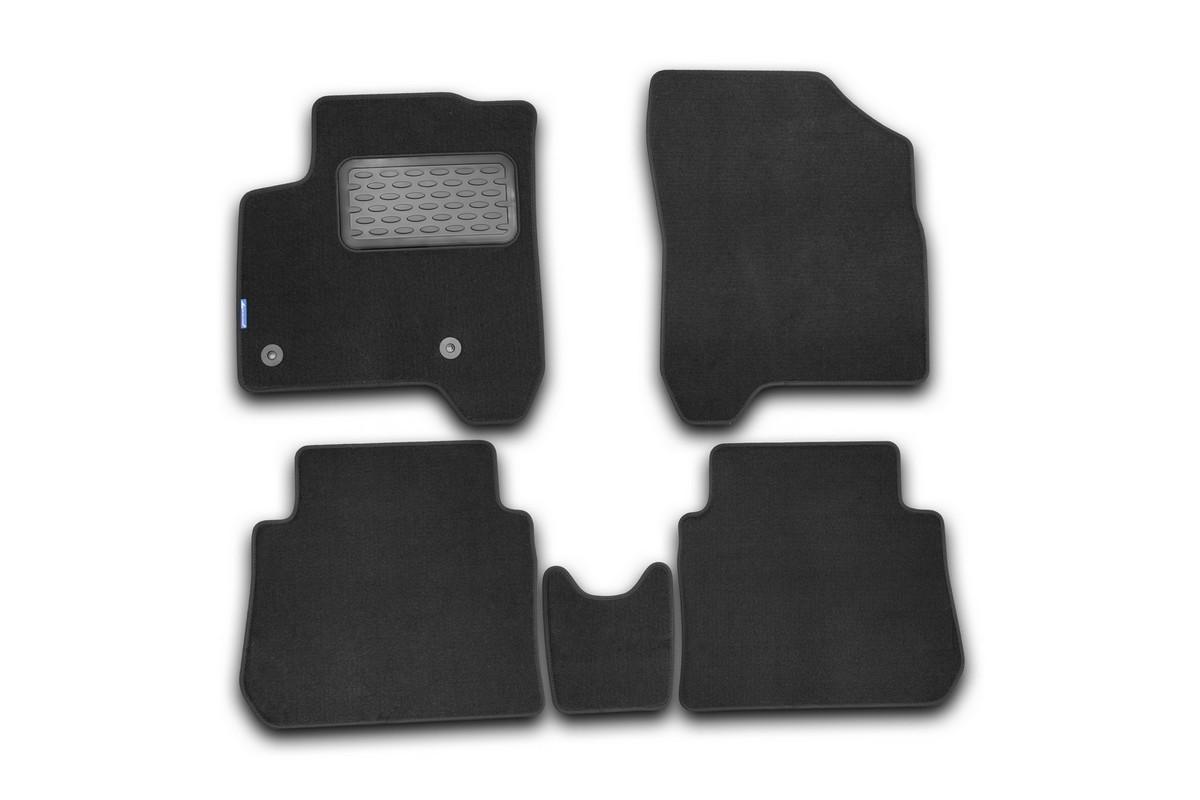 Набор автомобильных ковриков Novline-Autofamily для Citroen C3 Picasso 2009-, универсал, в салон, 5 штNLT.10.17.11.110khНабор автомобильных ковриков Novline-Autofamily, изготовленный из текстиля, состоит из 5 ковриков, которые учитывают все особенности каждой модели автомобиля и полностью повторяют контуры пола. Текстильные автомобильные коврики для салона произведены из высококачественного материала, который держит форму, прочный и не пачкает обувь. Коврики в салон не только улучшат внешний вид салона вашего автомобиля, но и надежно уберегут его от пыли, грязи и сырости, а значит, защитят кузов от коррозии. Текстильные коврики для автомобиля мягкие и приятные, а их основа из вспененного полиуретана не пропускает влагу. Ковры для автомобилей надежно крепятся на полу и не скользят, что очень важно во время движения. Чистятся коврики очень просто: как при помощи автомобильного пылесоса, так и различными моющими средствами. Набор подходит для Citroen C3 Picasso универсал с 2009 года выпуска.