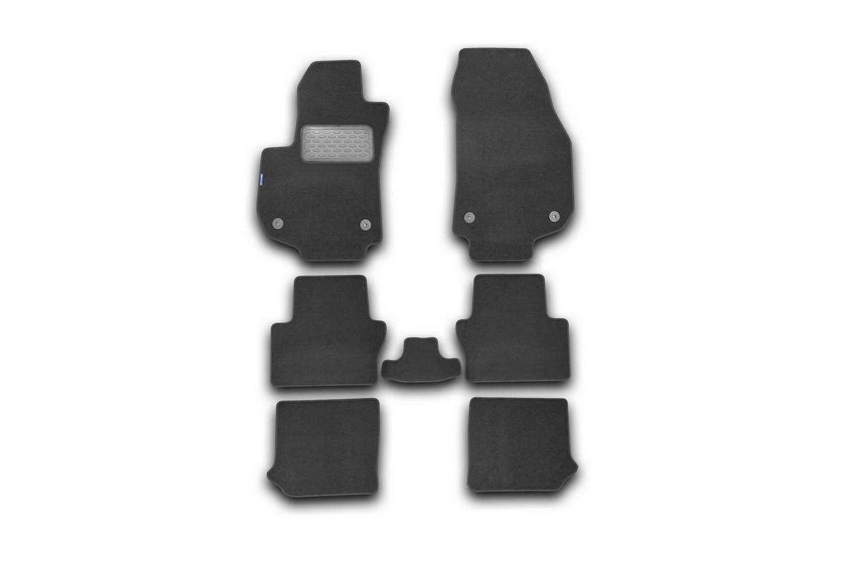 Набор автомобильных ковриков Novline-Autofamily для Opel Zafira B 2005-, минивэн, в салон, 7 штNLT.37.09.11.110khНабор автомобильных ковриков Novline-Autofamily, изготовленный из текстиля, состоит из 7 ковриков, которые учитывают все особенности каждой модели автомобиля и полностью повторяют контуры пола. Текстильные автомобильные коврики для салона произведены из высококачественного материала, который держит форму, прочный и не пачкает обувь. Коврики в салон не только улучшат внешний вид салона вашего автомобиля, но и надежно уберегут его от пыли, грязи и сырости, а значит, защитят кузов от коррозии. Текстильные коврики для автомобиля мягкие и приятные, а их основа из вспененного полиуретана не пропускает влагу. Ковры для автомобилей надежно крепятся на полу и не скользят, что очень важно во время движения. Чистятся коврики очень просто: как при помощи автомобильного пылесоса, так и различными моющими средствами. Набор подходит для Opel Zafira B минивен с 2005 года выпуска.