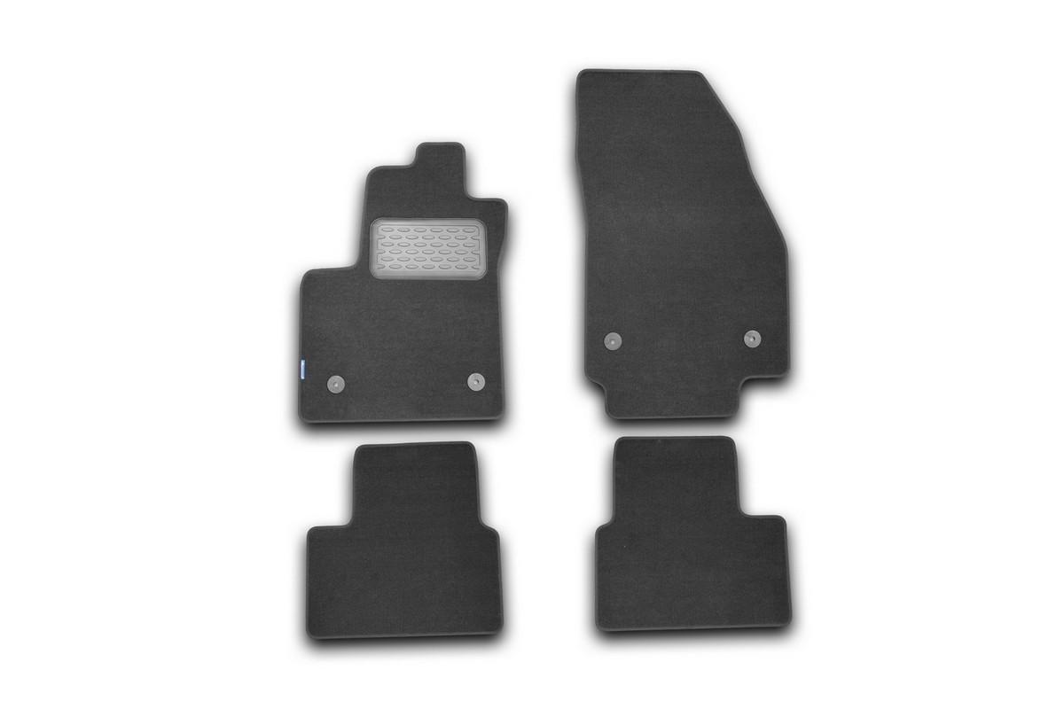 Набор автомобильных ковриков Novline-Autofamily для Opel Meriva B 2010-, минивен, в салон, 4 шт. NLT.37.26.11.110khNLT.37.26.11.110khНабор автомобильных ковриков Novline-Autofamily, изготовленный из текстиля, состоит из 4 ковриков, которые учитывают все особенности каждой модели автомобиля и полностью повторяют контуры пола. Текстильные автомобильные коврики для салона произведены из высококачественного материала, который держит форму, прочный и не пачкает обувь. Коврики в салон не только улучшат внешний вид салона вашего автомобиля, но и надежно уберегут его от пыли, грязи и сырости, а значит, защитят кузов от коррозии. Текстильные коврики для автомобиля мягкие и приятные, а их основа из вспененного полиуретана не пропускает влагу. Ковры для автомобилей надежно крепятся на полу и не скользят, что очень важно во время движения. Чистятся коврики очень просто: как при помощи автомобильного пылесоса, так и различными моющими средствами. Набор подходит для Opel Meriva B минивен с 2010 года выпуска.