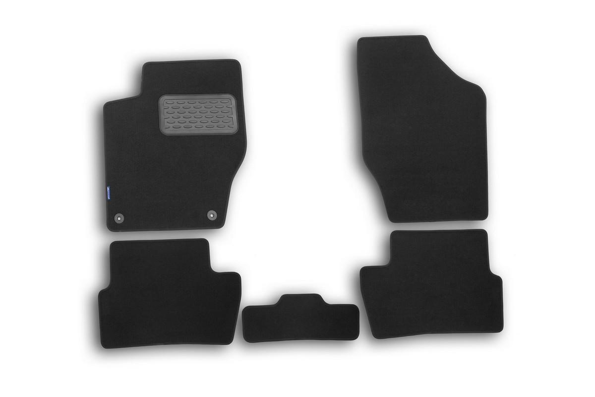 Набор автомобильных ковриков Novline-Autofamily для Peugeot 308 2007-2014, хэтчбек, в салон, 5 штNLT.38.11.11.110khНабор автомобильных ковриков Novline-Autofamily, изготовленный из текстиля, состоит из 5 ковриков, которые учитывают все особенности каждой модели автомобиля и полностью повторяют контуры пола. Текстильные автомобильные коврики для салона произведены из высококачественного материала, который держит форму, прочный и не пачкает обувь. Коврики в салон не только улучшат внешний вид салона вашего автомобиля, но и надежно уберегут его от пыли, грязи и сырости, а значит, защитят кузов от коррозии. Текстильные коврики для автомобиля мягкие и приятные, а их основа из вспененного полиуретана не пропускает влагу. Ковры для автомобилей надежно крепятся на полу и не скользят, что очень важно во время движения. Чистятся коврики очень просто: как при помощи автомобильного пылесоса, так и различными моющими средствами. Набор подходит для Peugeot 308 хэтчбек 2007-2014 годов выпуска.