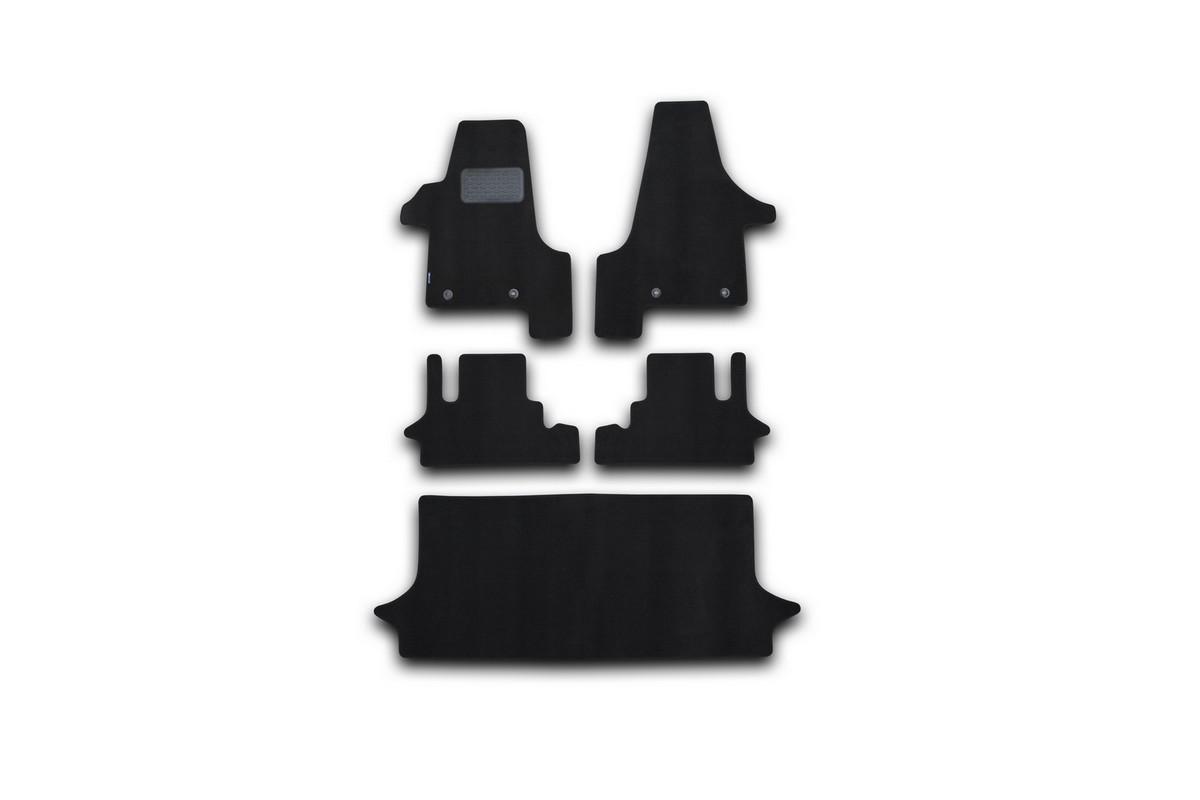 Набор автомобильных ковриков Novline-Autofamily для Volkswagen Multivan HighLine АКПП 2004-, минивэн, в салон, 5 штNLT.51.17.11.110khНабор автомобильных ковриков Novline-Autofamily, изготовленный из текстиля, состоит из 5 ковриков, которые учитывают все особенности каждой модели автомобиля и полностью повторяют контуры пола. Текстильные автомобильные коврики для салона произведены из высококачественного материала, который держит форму, прочный и не пачкает обувь. Коврики в салон не только улучшат внешний вид салона вашего автомобиля, но и надежно уберегут его от пыли, грязи и сырости, а значит, защитят кузов от коррозии. Текстильные коврики для автомобиля мягкие и приятные, а их основа из вспененного полиуретана не пропускает влагу. Ковры для автомобилей надежно крепятся на полу и не скользят, что очень важно во время движения. Чистятся коврики очень просто: как при помощи автомобильного пылесоса, так и различными моющими средствами. Набор подходит для Volkswagen Multivan HighLine АКПП минивэн с 2004 года выпуска.