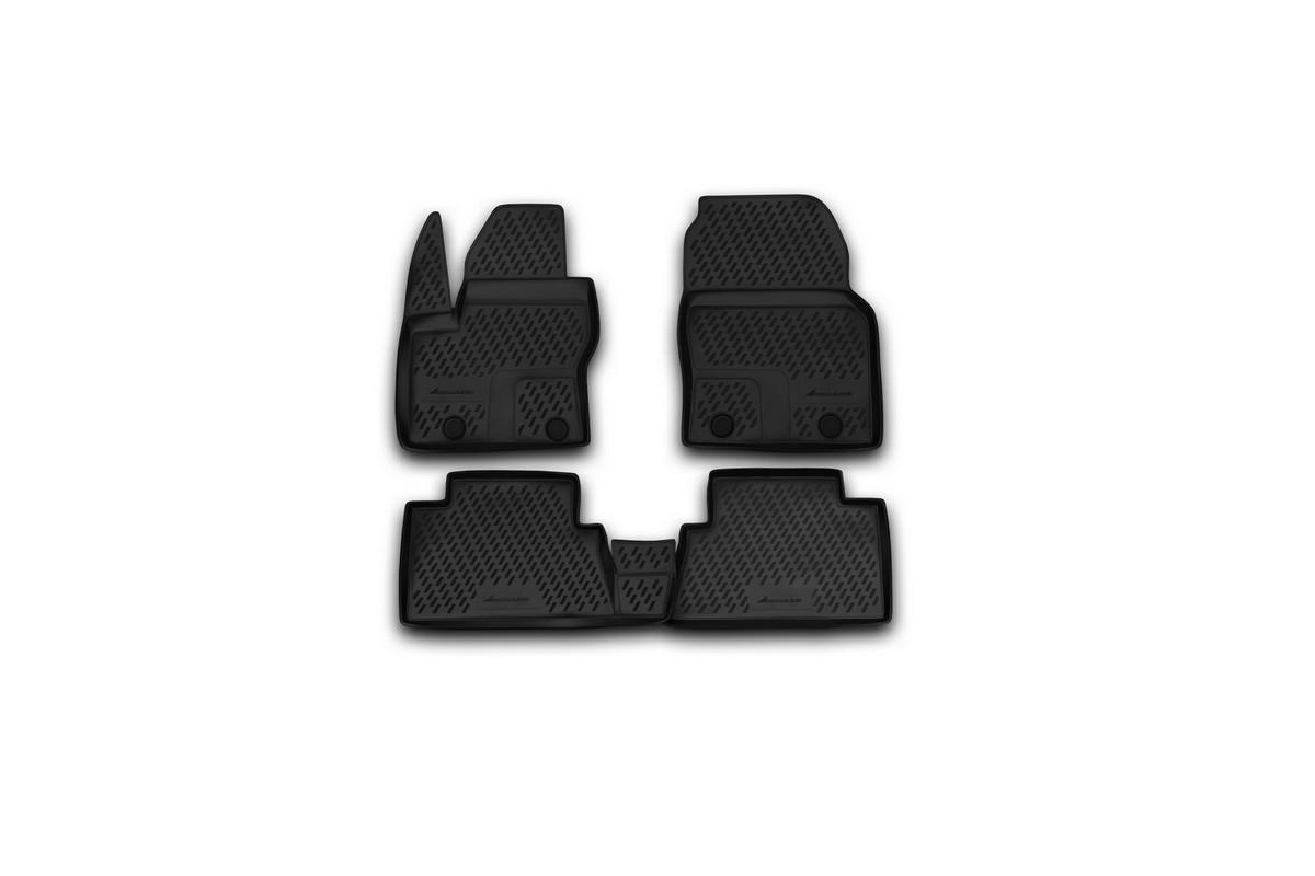 Набор автомобильных ковриков Novline-Autofamily для Ford Grand C-Max 11/2010-, в салон, 5 шт novline autofamily ford grand c max 2010 цвет черный