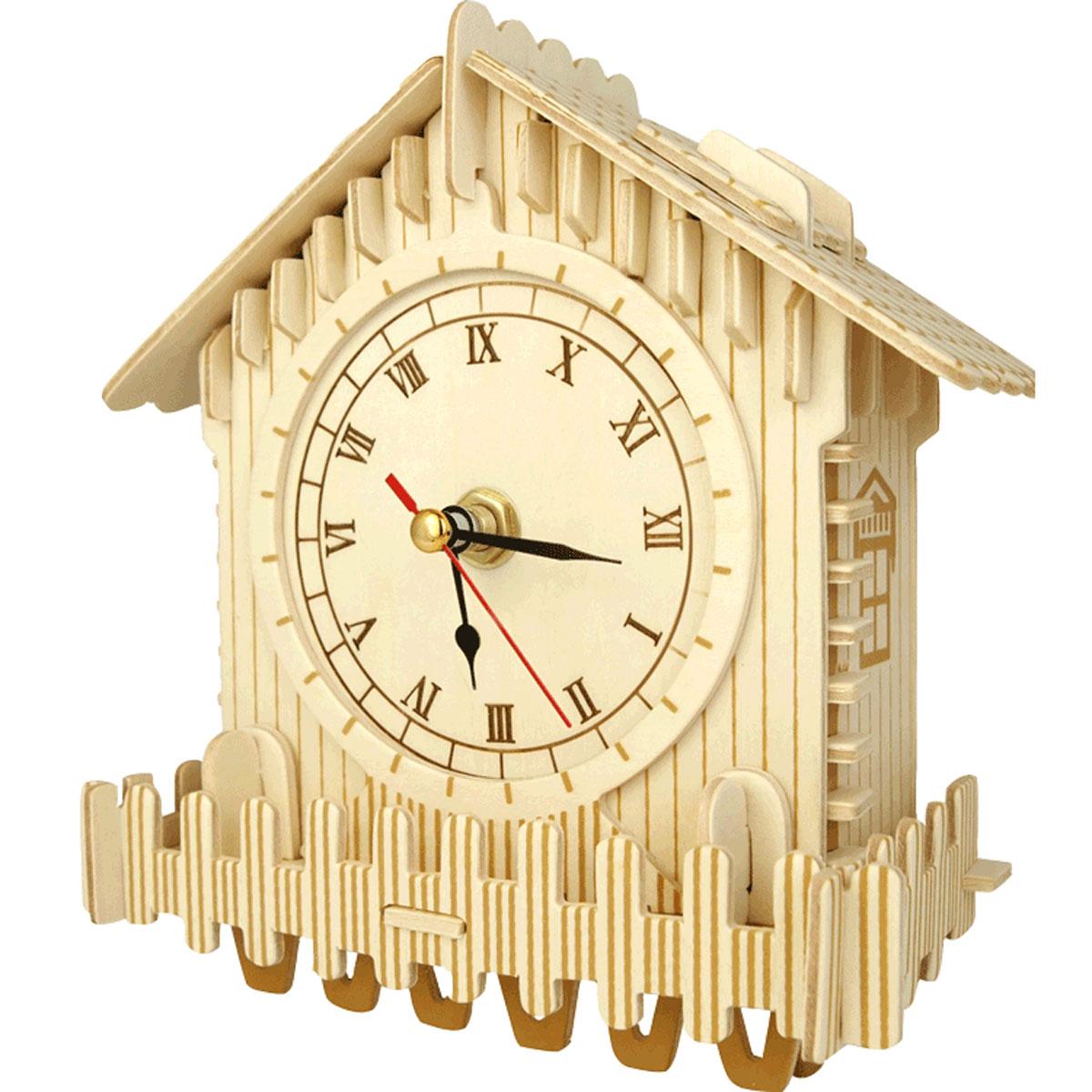 VGA Wooden Toys Сборная деревянная модель Интерьерные часы