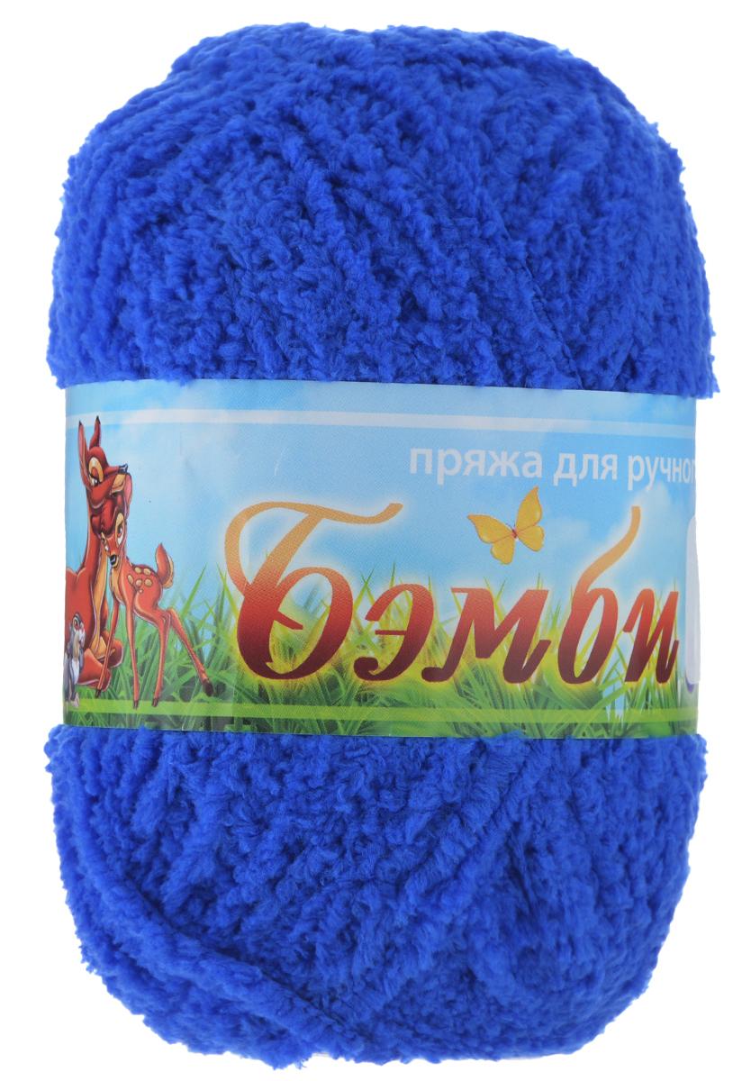 Пряжа для вязания Nazar Бэмби, цвет: василек (2785), 142 м, 50 г, 10 шт580824_2785 василекПряжа для ручного вязания Nazar Бэмби изготовлена из 100% микрополиэстера. Это очень мягкая, плюшевая пряжа с коротким ворсом. Идеально подходит для вязания детской одежды - вещи получаются нежными и приятными на ощупь. Также хорошо получаются игрушки, пледы, декоративные подушки. Рекомендуемые спицы 3-4 мм, крючок - 2-3 мм. Состав: 100% микрополиэстер. Количество мотков: 10 шт.