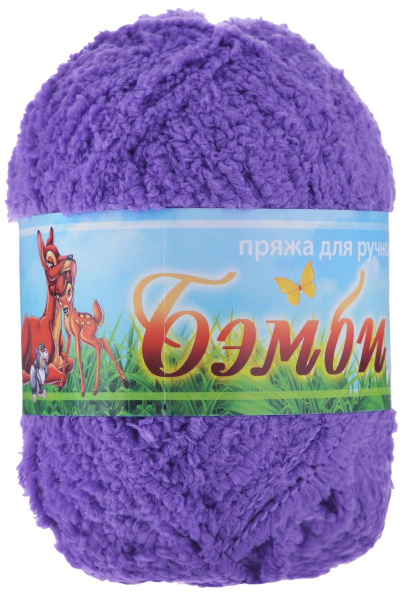 Пряжа для вязания Nazar Бэмби, цвет: фиолетовый (2657), 142 м, 50 г, 10 шт580824_2657 фиолетовПряжа для ручного вязания Nazar Бэмби изготовлена из 100% микрополиэстера. Это очень мягкая, плюшевая пряжа с коротким ворсом. Идеально подходит для вязания детской одежды - вещи получаются нежными и приятными на ощупь. Также хорошо получаются игрушки, пледы, декоративные подушки. Рекомендуемые спицы 3-4 мм, крючок - 2-3 мм. Состав: 100% микрополиэстер. Количество мотков: 10 шт.