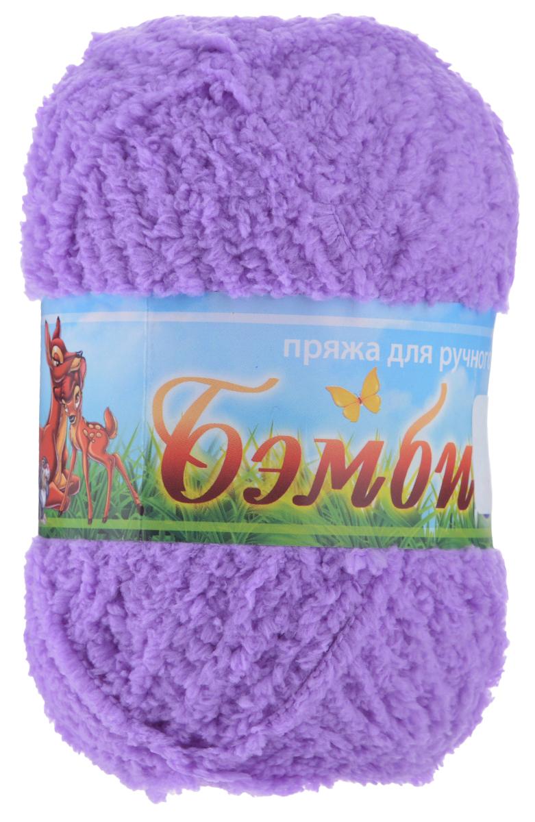 Пряжа для вязания Nazar Бэмби, цвет: сирень (517), 142 м, 50 г, 10 шт580824_517 сиреньПряжа для ручного вязания Nazar Бэмби изготовлена из 100% микрополиэстера. Это очень мягкая, плюшевая пряжа с коротким ворсом. Идеально подходит для вязания детской одежды - вещи получаются нежными и приятными на ощупь. Также хорошо получаются игрушки, пледы, декоративные подушки. Рекомендуемые спицы 3-4 мм, крючок - 2-3 мм. Состав: 100% микрополиэстер. Количество мотков: 10 шт.