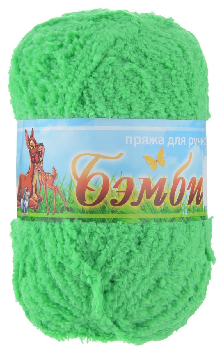 Пряжа для вязания Nazar Бэмби, цвет: светлая зелень (2554), 142 м, 50 г, 10 шт580824_2554 св.зеленьПряжа для ручного вязания Nazar Бэмби изготовлена из 100% микрополиэстера. Это очень мягкая, плюшевая пряжа с коротким ворсом. Идеально подходит для вязания детской одежды - вещи получаются нежными и приятными на ощупь. Также хорошо получаются игрушки, пледы, декоративные подушки. Рекомендуемые спицы 3-4 мм, крючок - 2-3 мм. Состав: 100% микрополиэстер. Количество мотков: 10 шт.